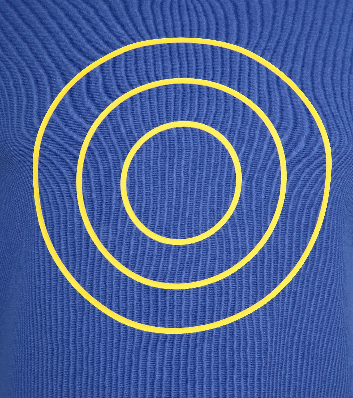 Blue Industry T-Shirt Logo Kobalt foto 1