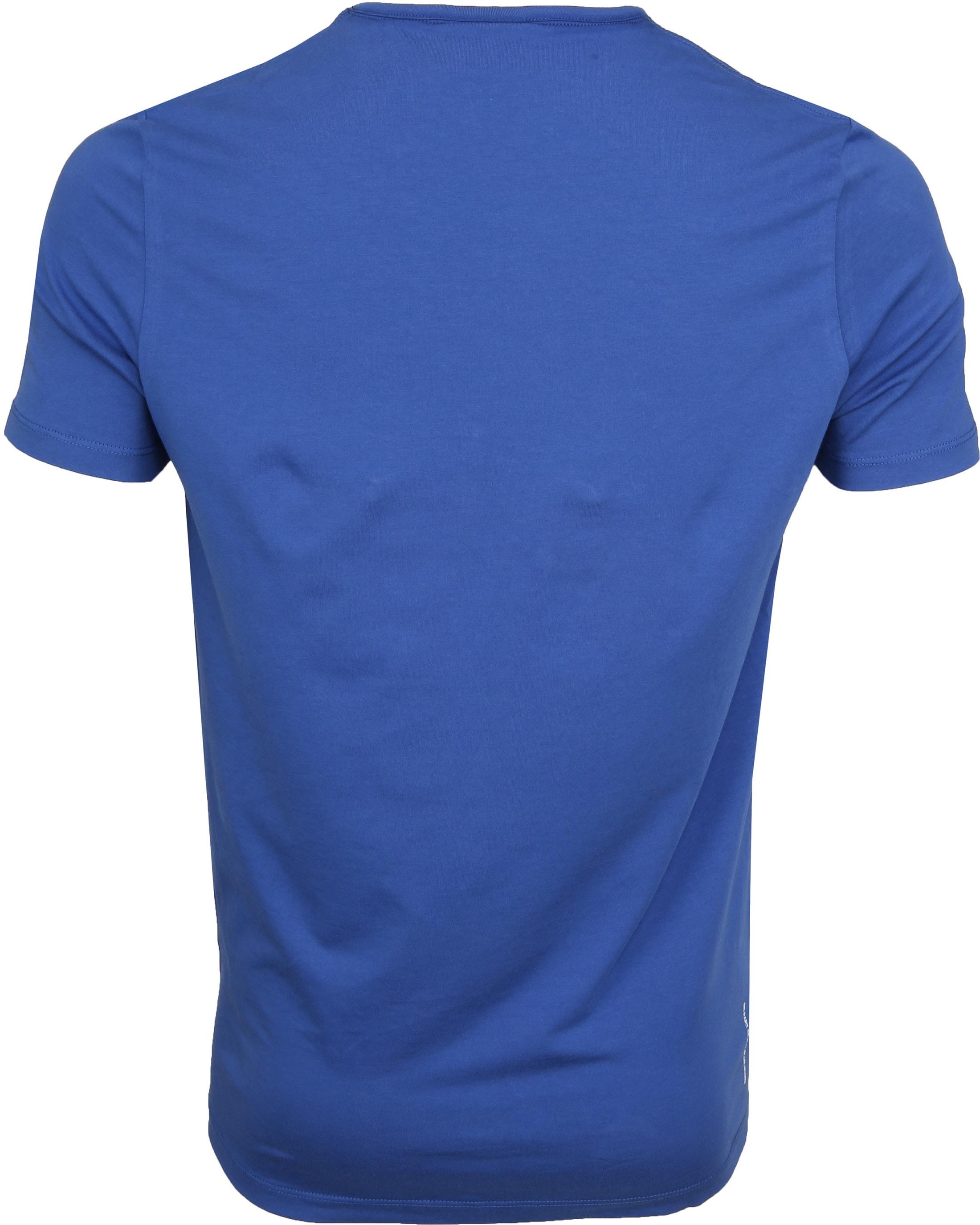 Blue Industry T-Shirt Logo Kobalt foto 2