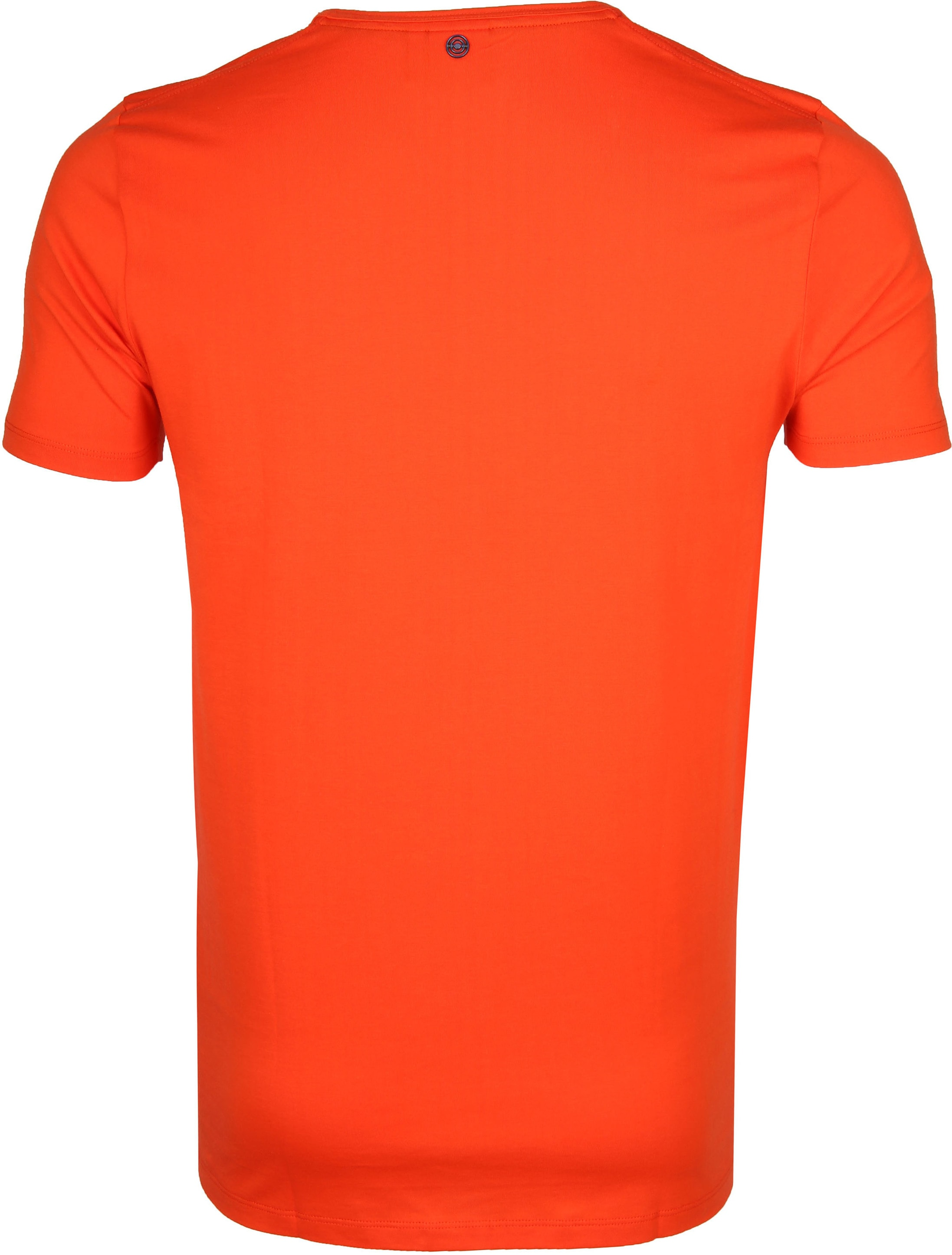 Blue Industry T-Shirt Logo Oranje