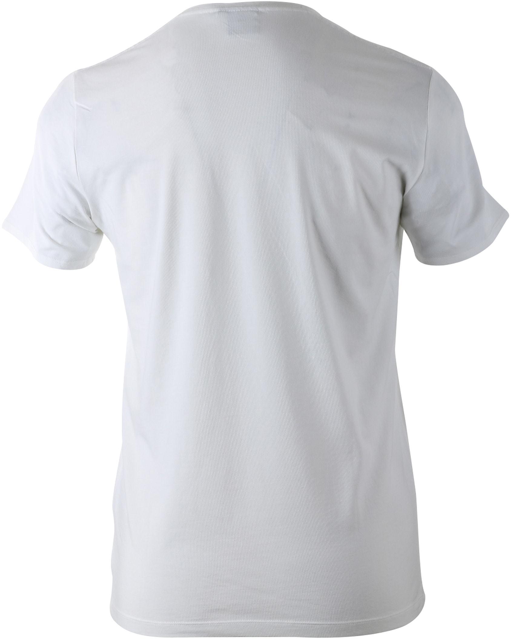 Blue Industry T-shirt Wit foto 1