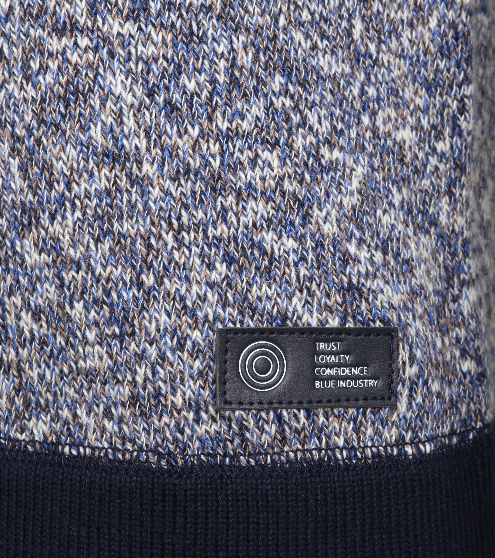 Blue Industry Trui Knit Blue foto 2