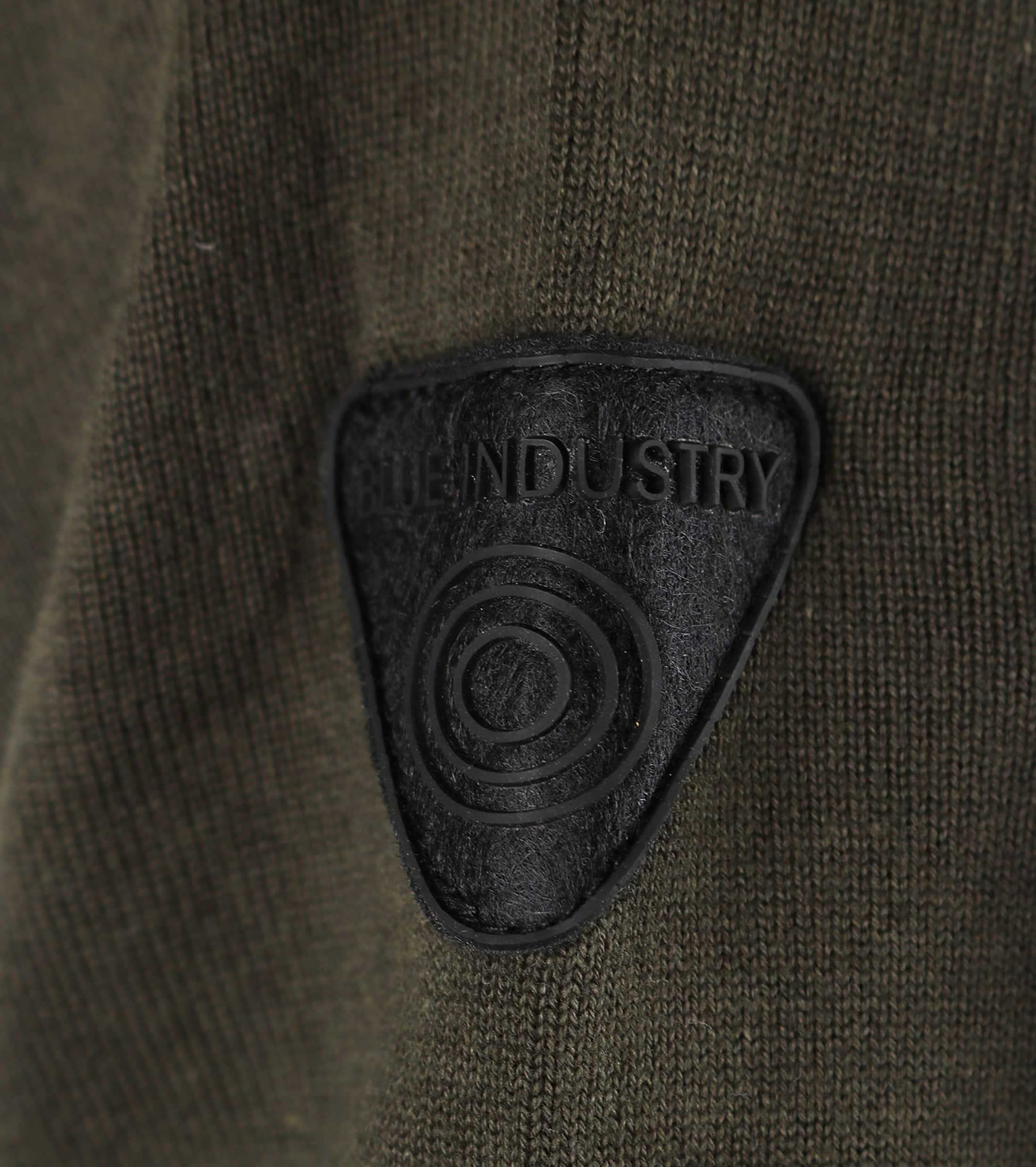 Blue Industry Vest Donkergroen foto 3