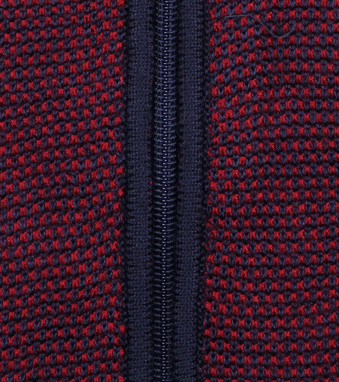Blue Industry Zipper Vest Bordeaux foto 2