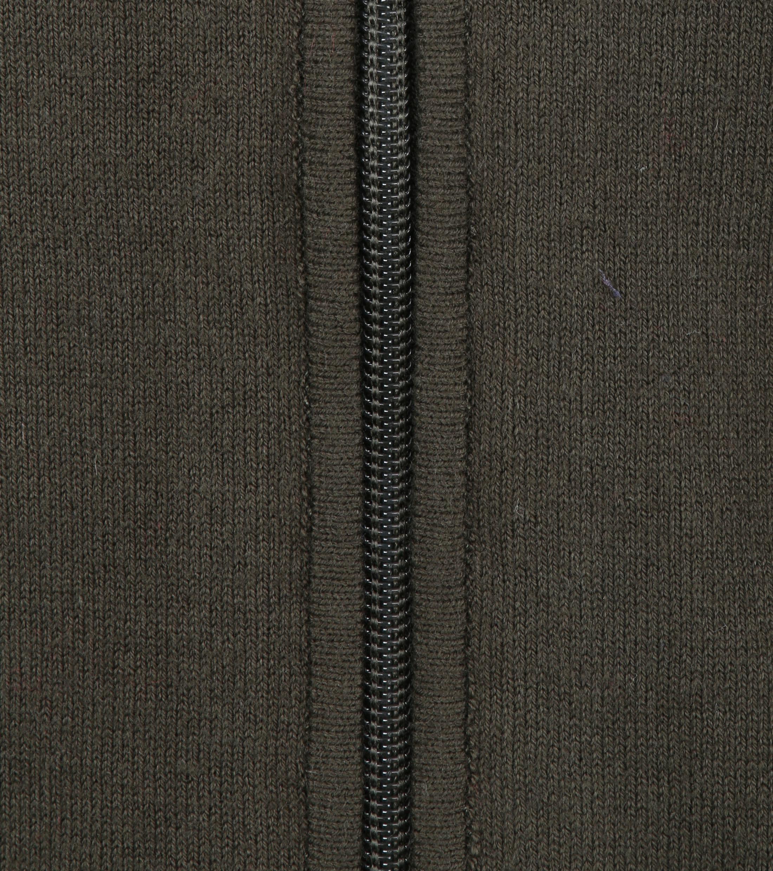 Blue Industry Zipper Vest Donkergroen foto 2