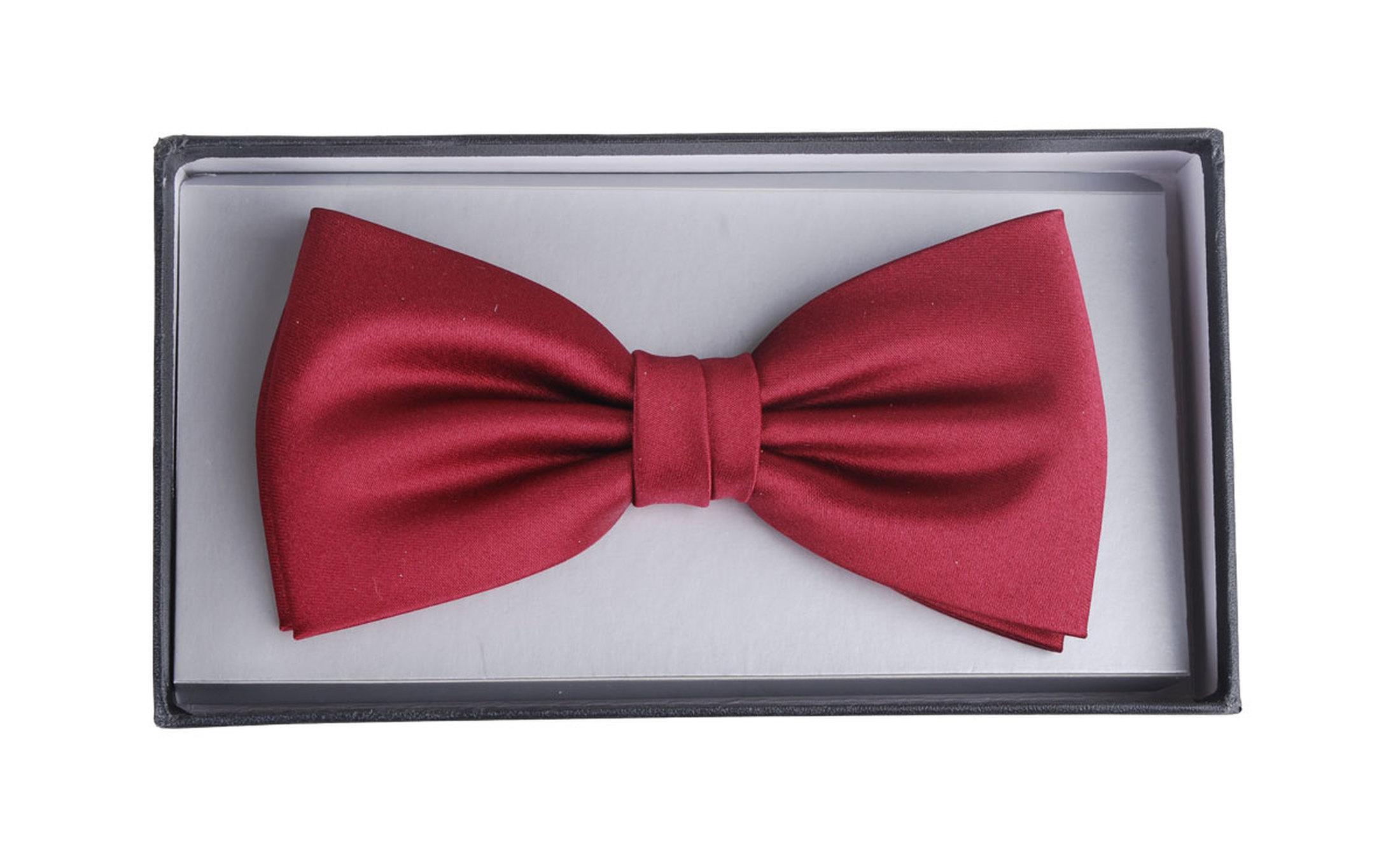 Bow Tie Bordeaux foto 1