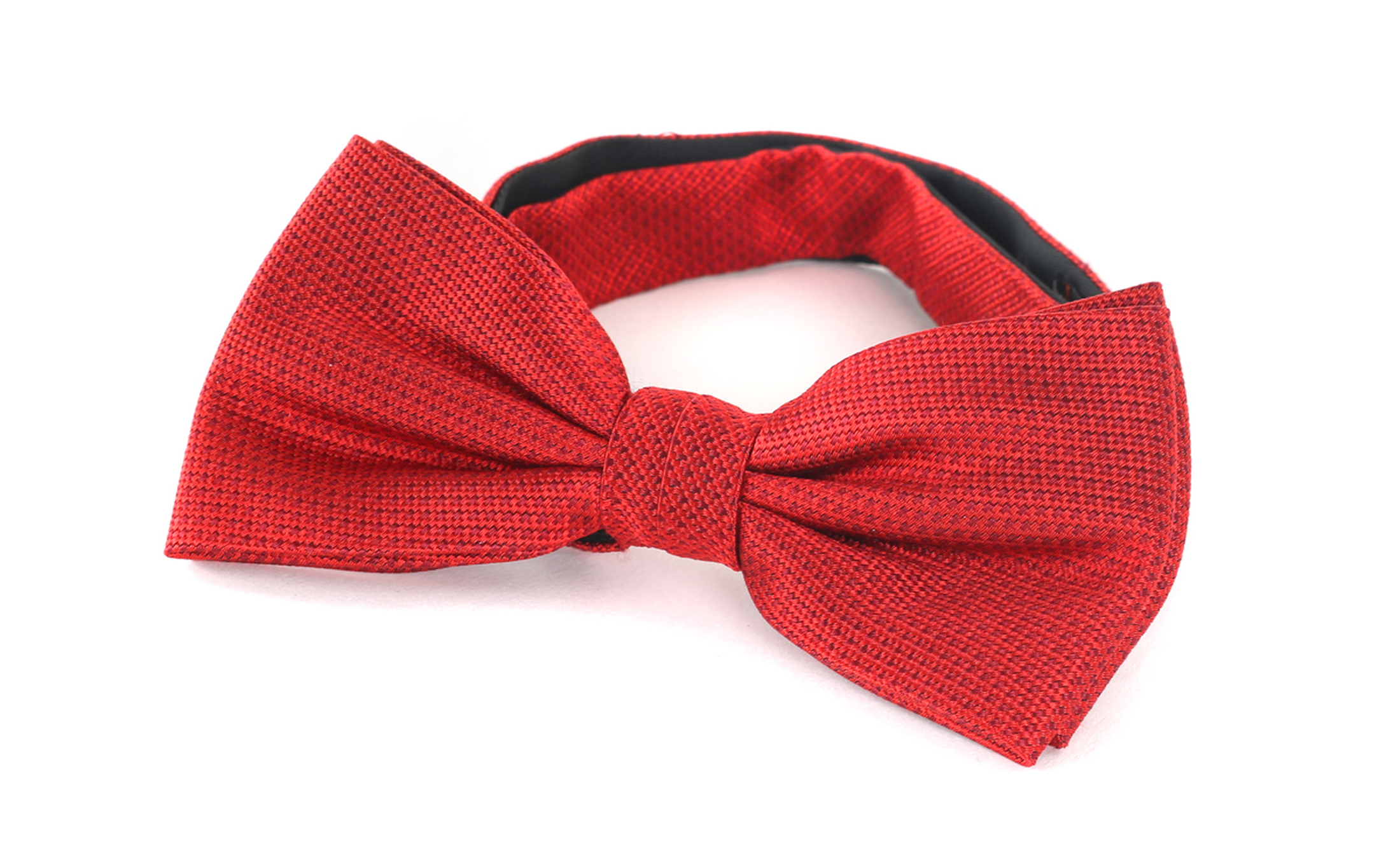 Bow Tie Silk Red photo 0