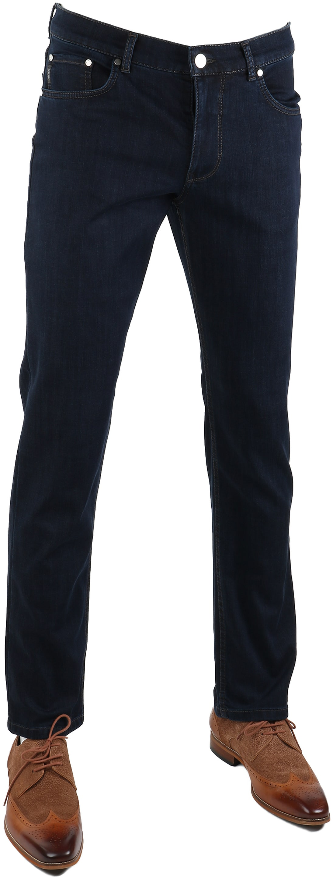 Brax Cooper Denim Jeans Dark Five Pocket foto 0