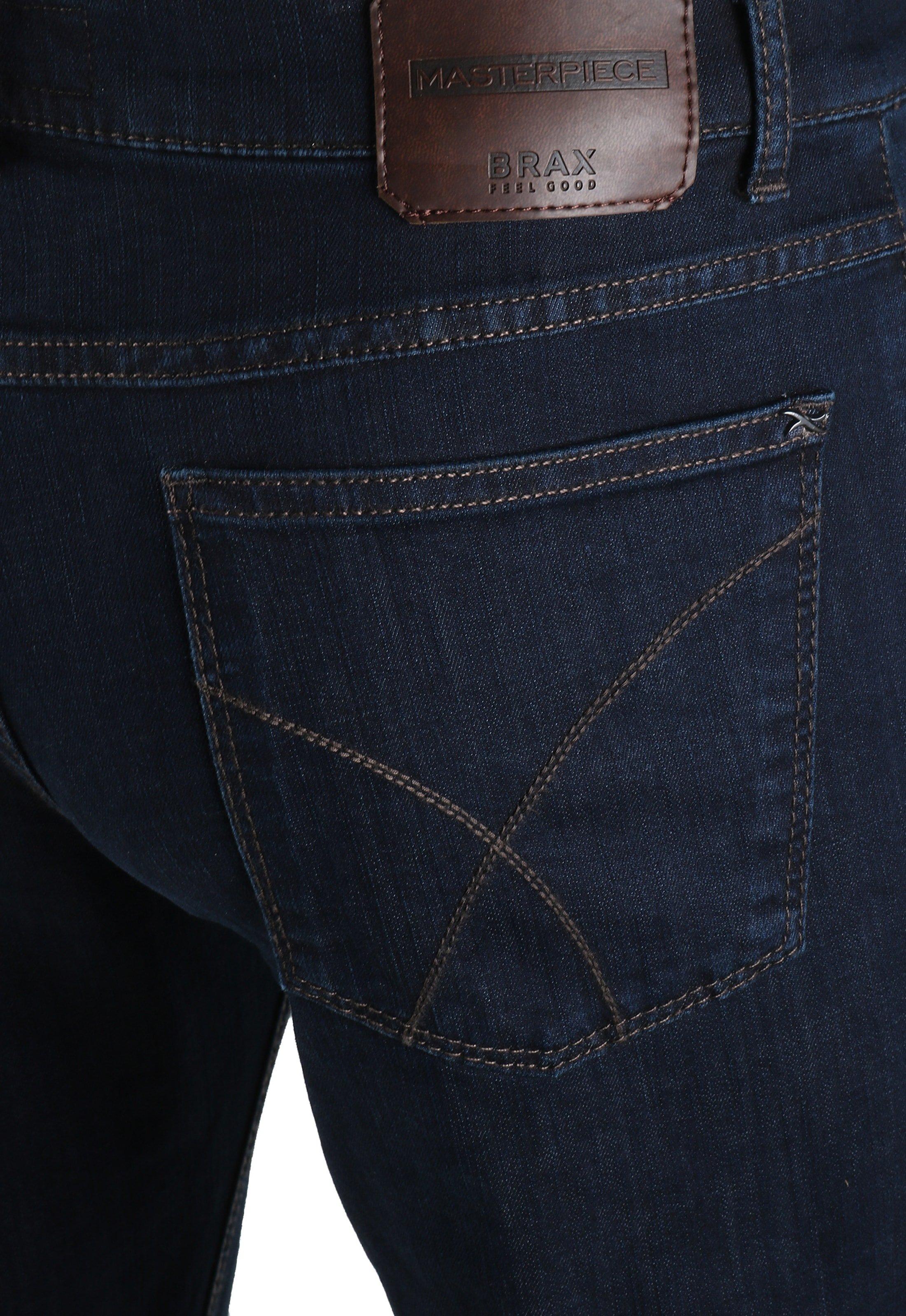 Brax Cooper Denim Jeans Dark Five Pocket foto 3