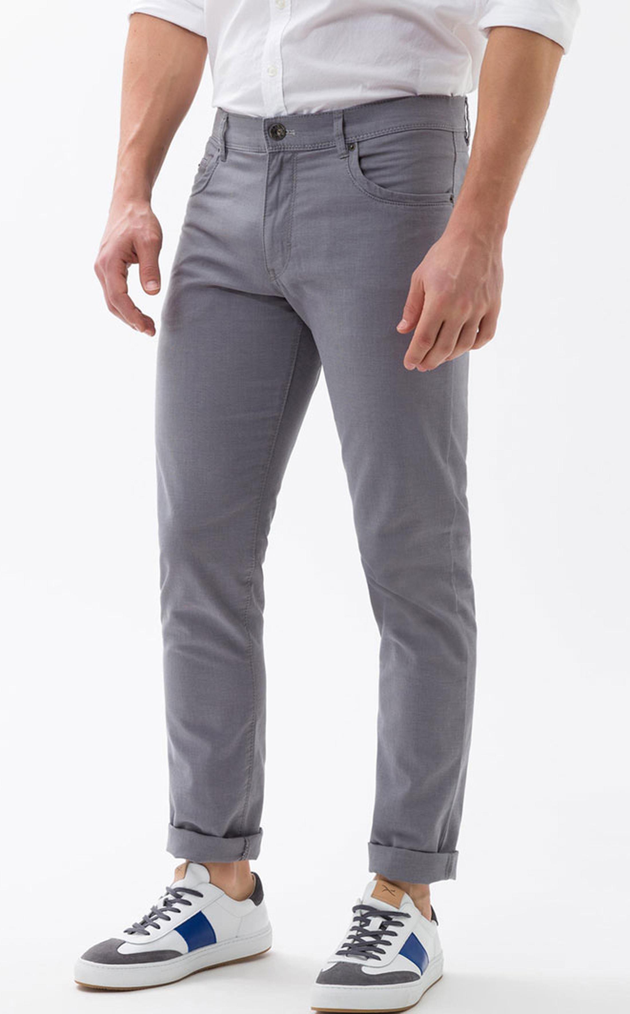 Brax Pants Grey Cadiz foto 4