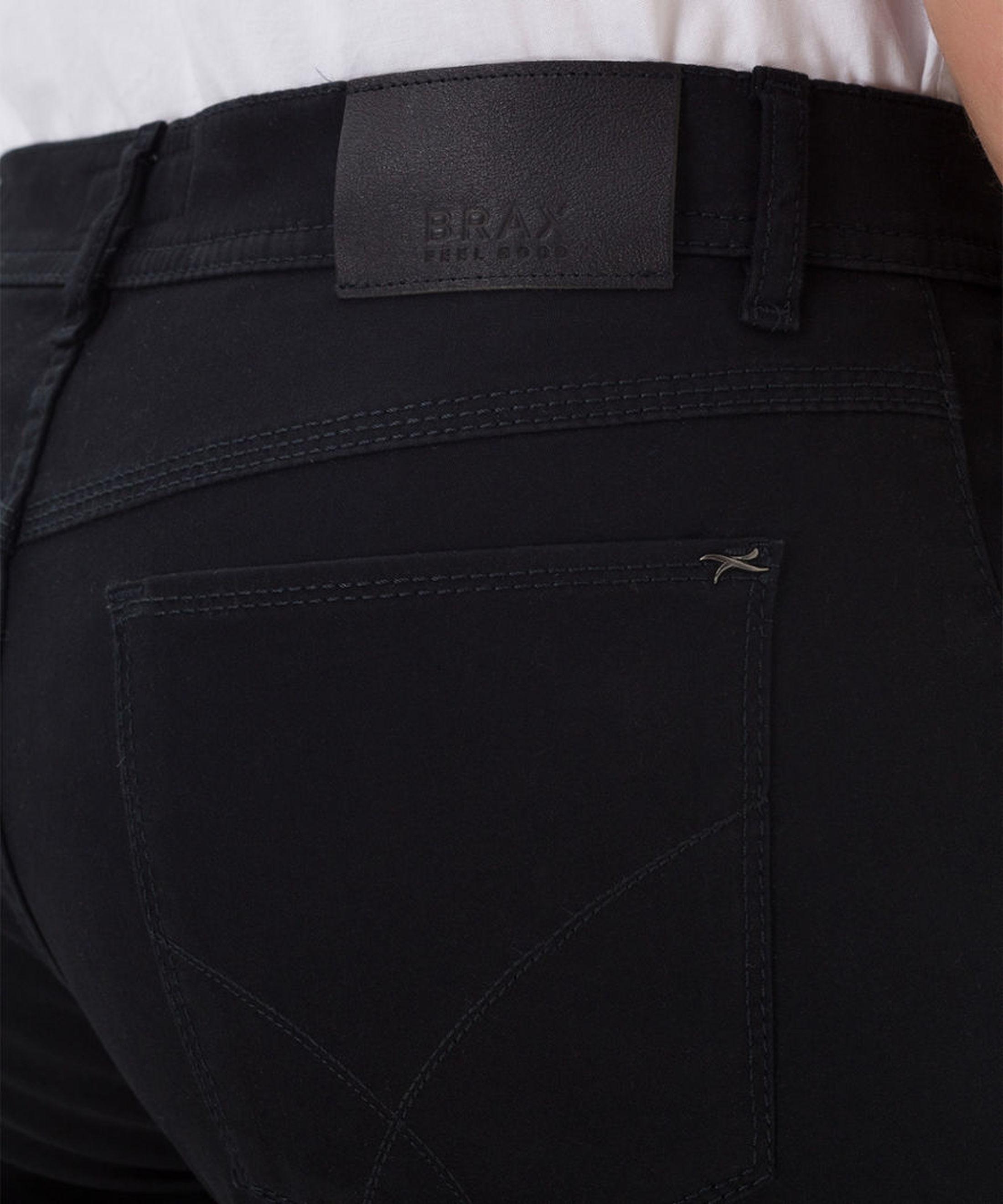 Brax Trousers Cooper Fancy Black