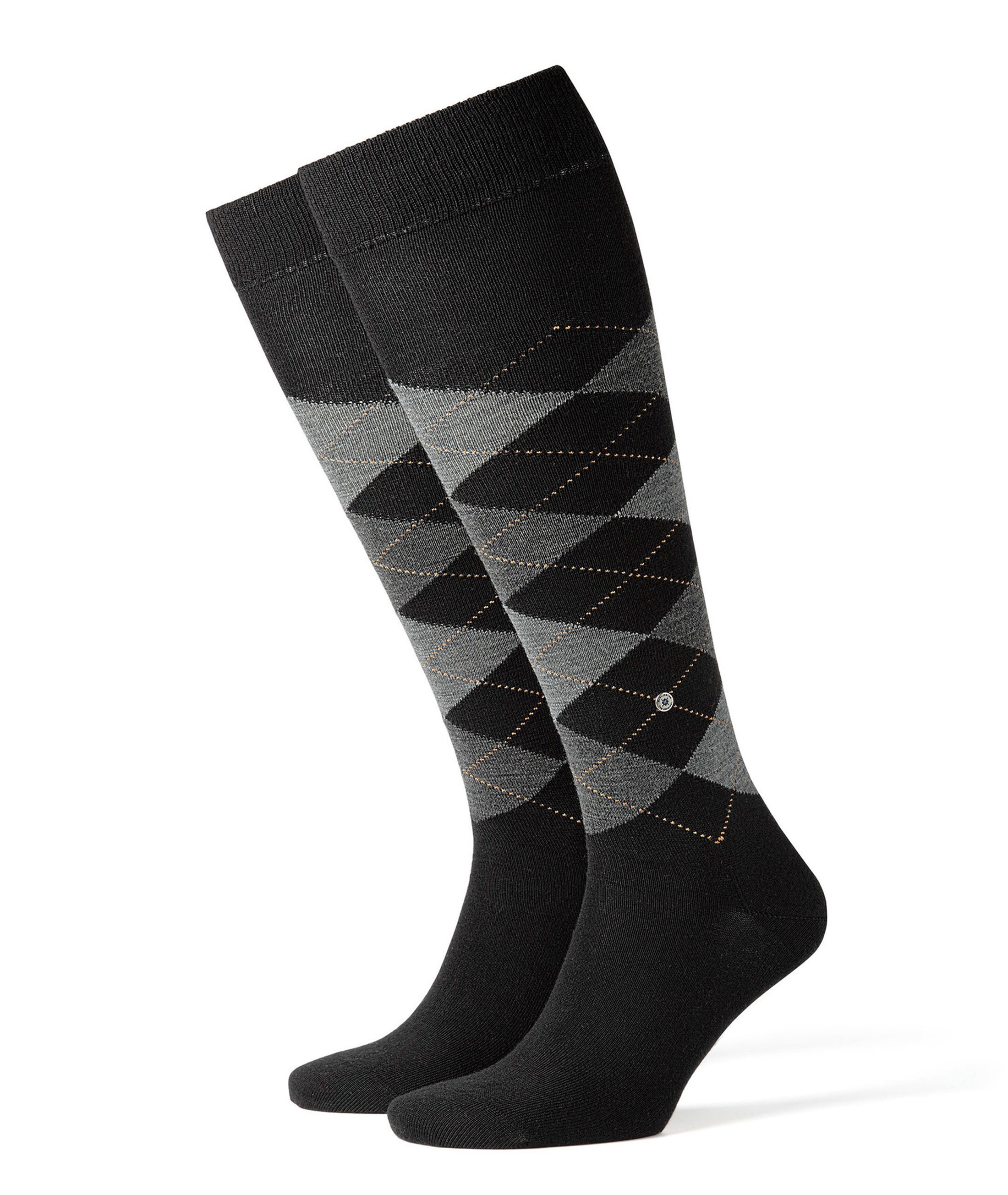 Burlington Edinburgh Knee Socks Black 3000 foto 0