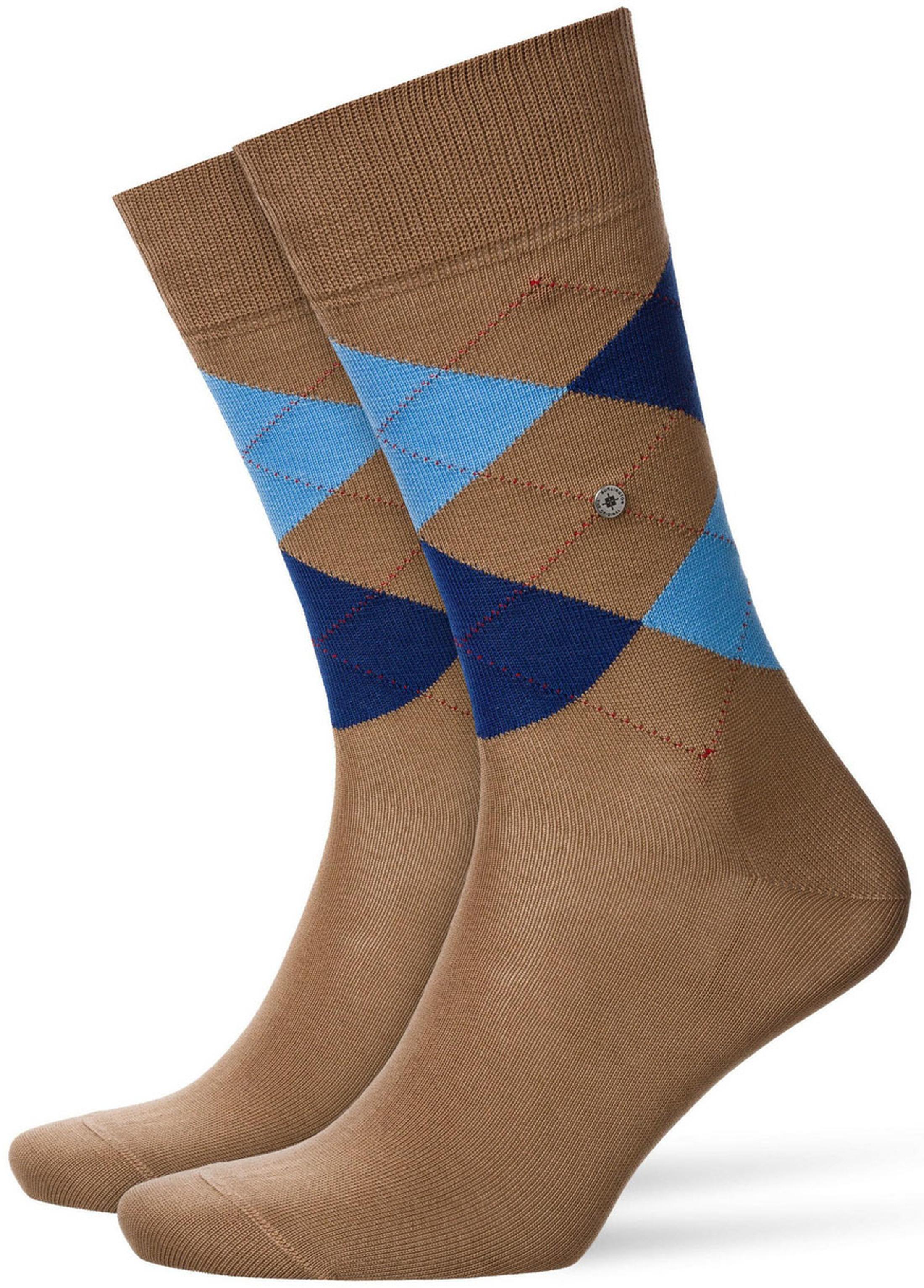 Burlington Manchester Socken Rosenholz 5066
