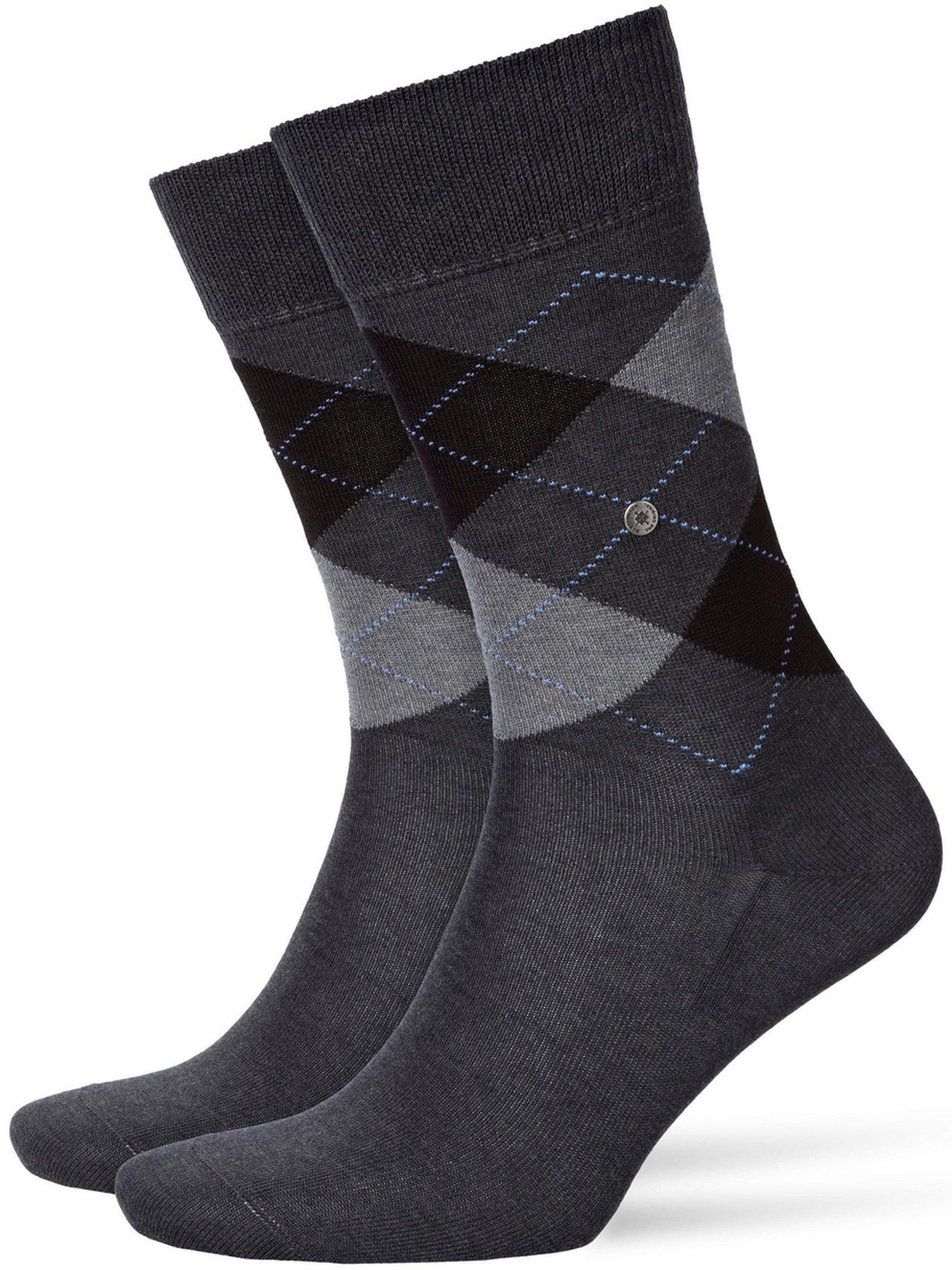 Burlington Socken Kariert Baumwolle 3095