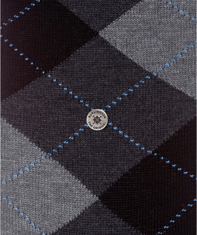 Burlington Socks Checkered Cotton 3095
