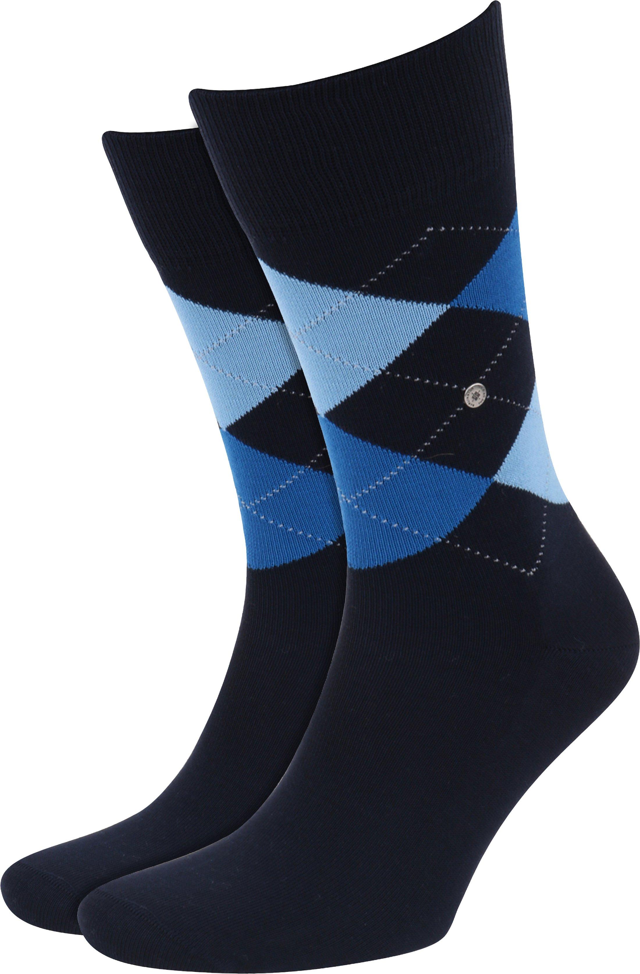 Burlington Socks Checkered Cotton 6120