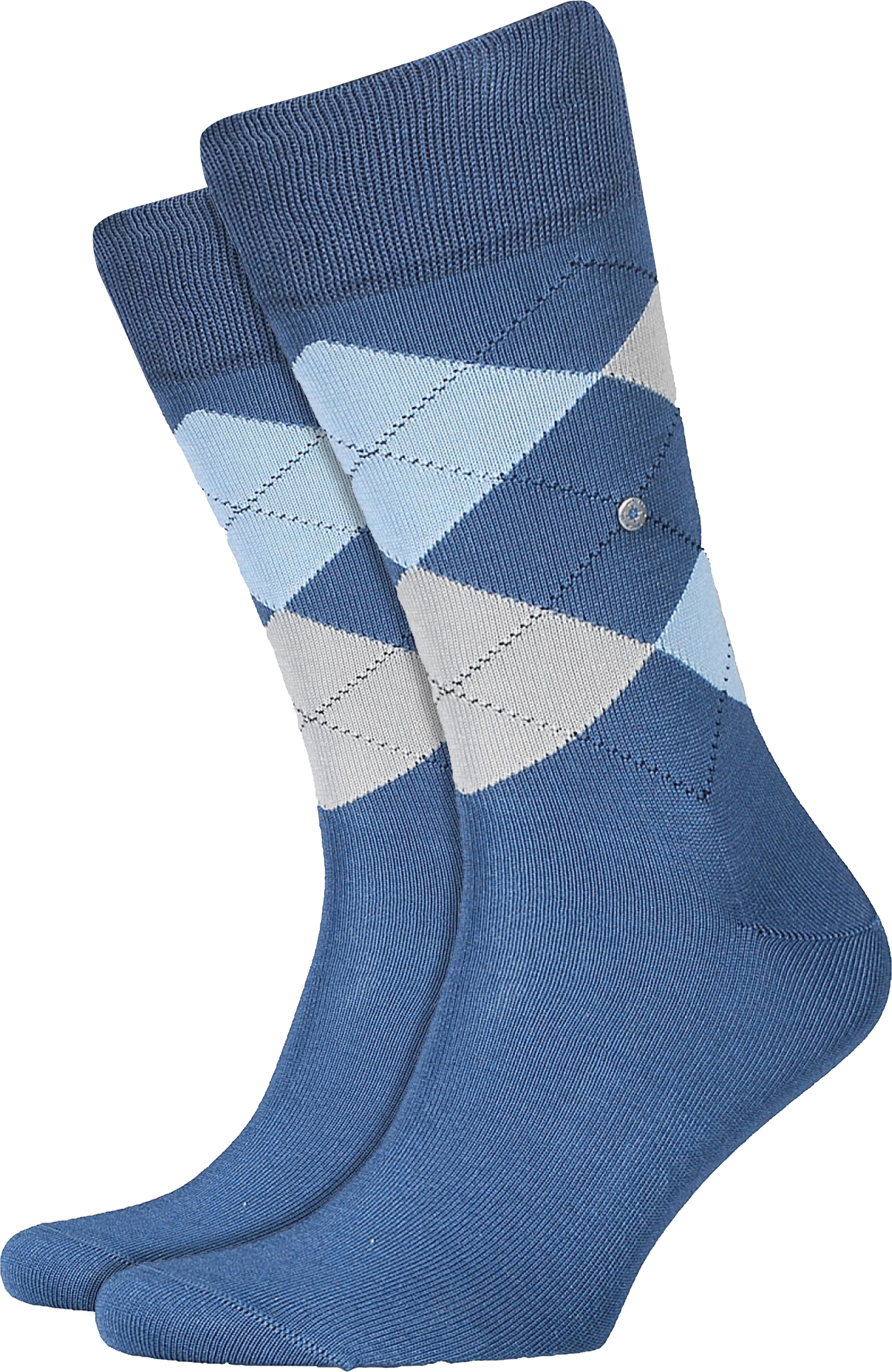 Burlington Socks Checkered Cotton 6220