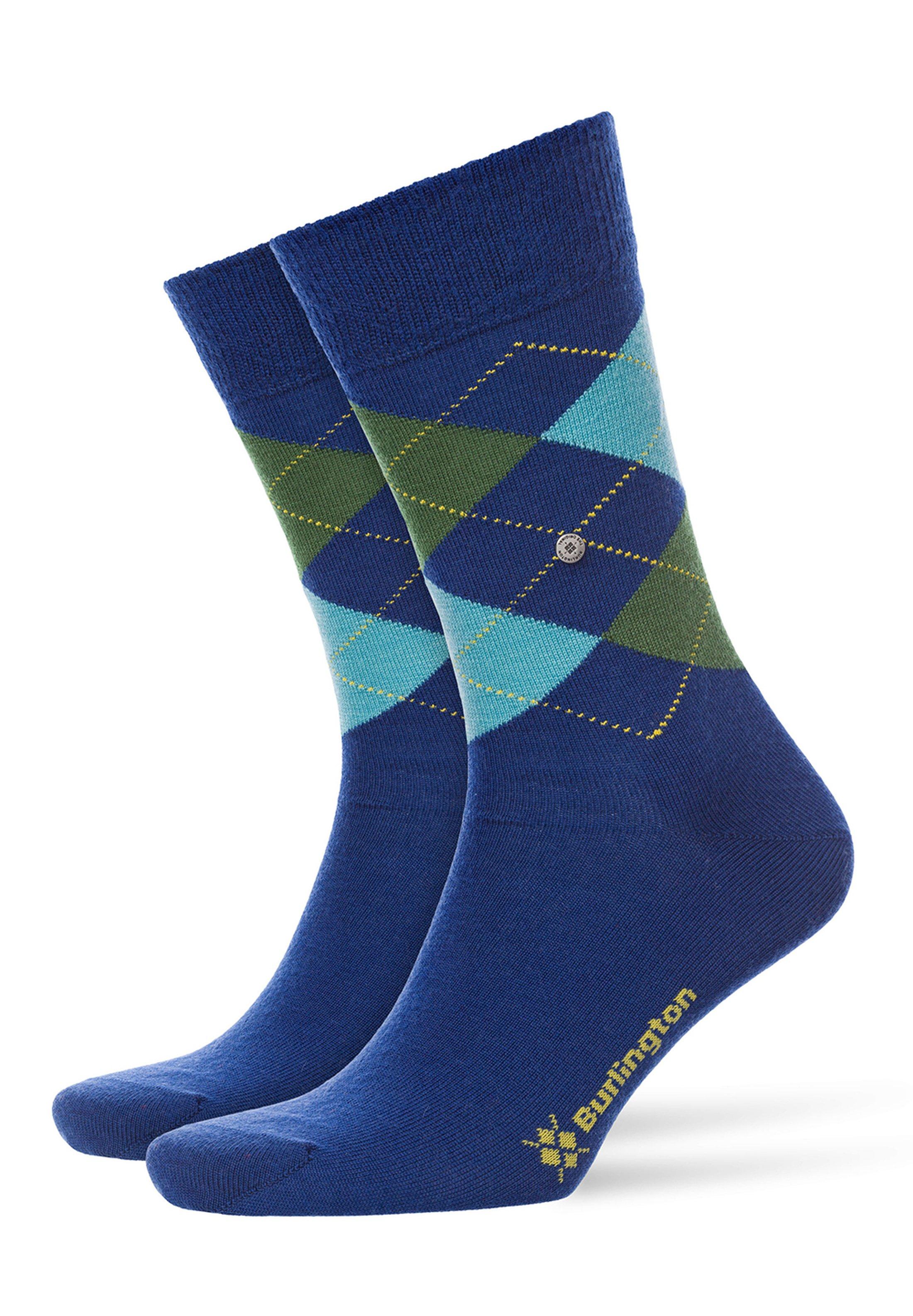 Burlington Sokken Edinburgh Blauw foto 0
