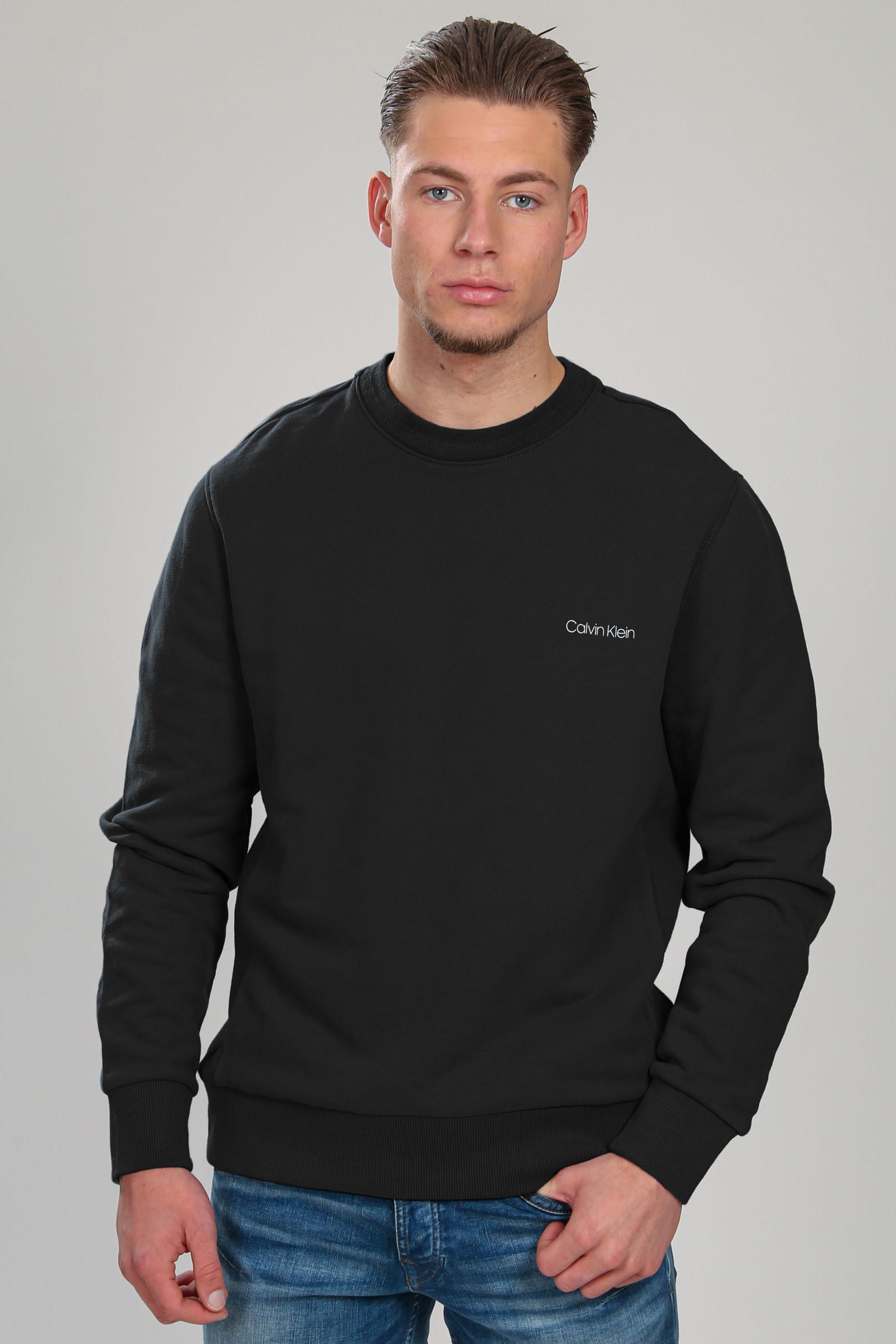 Calvin Klein Sweater Logo Zwart