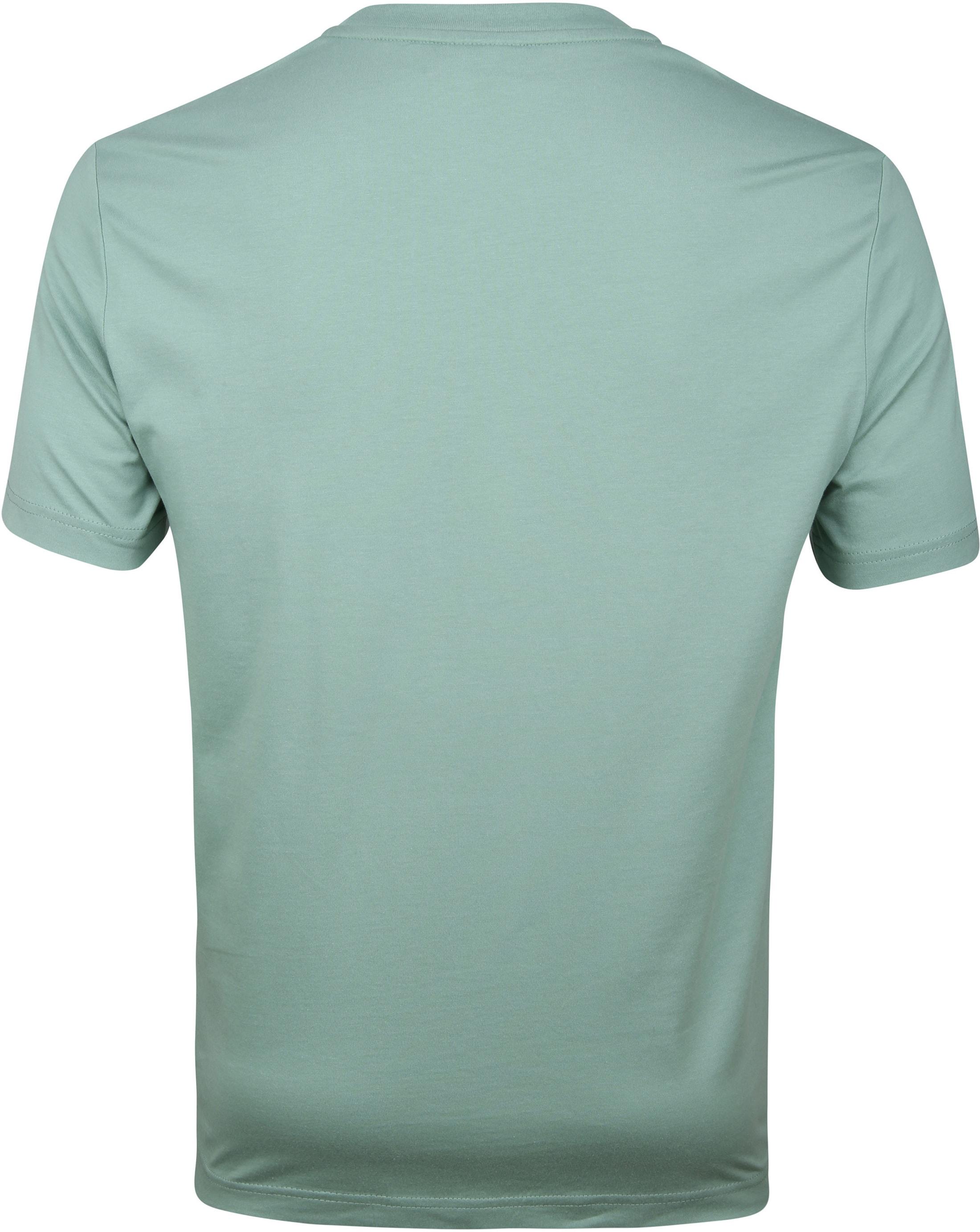 Calvin Klein T-Shirt Logo Groot Mintgroen