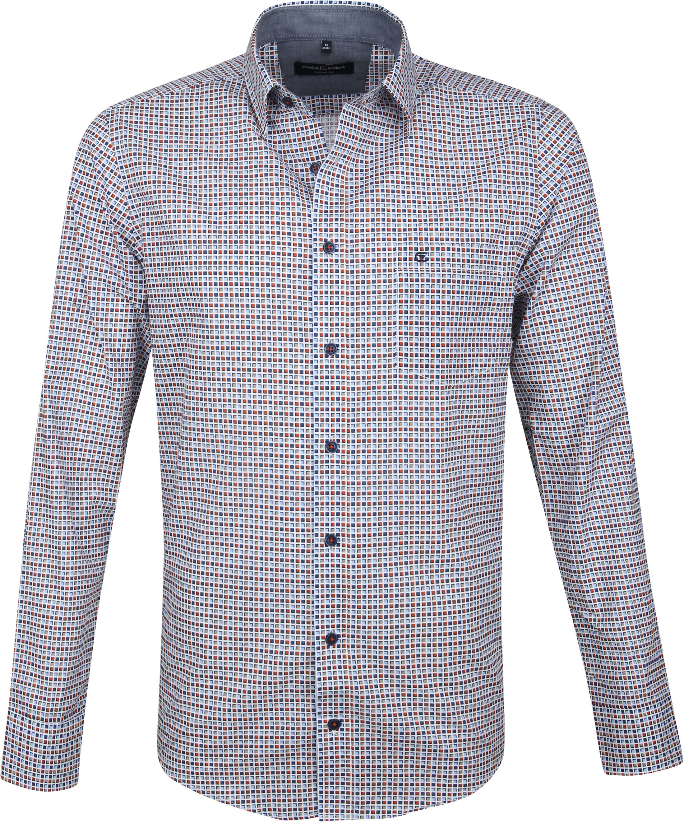 Casa Moda Casual Shirt Squares photo 0