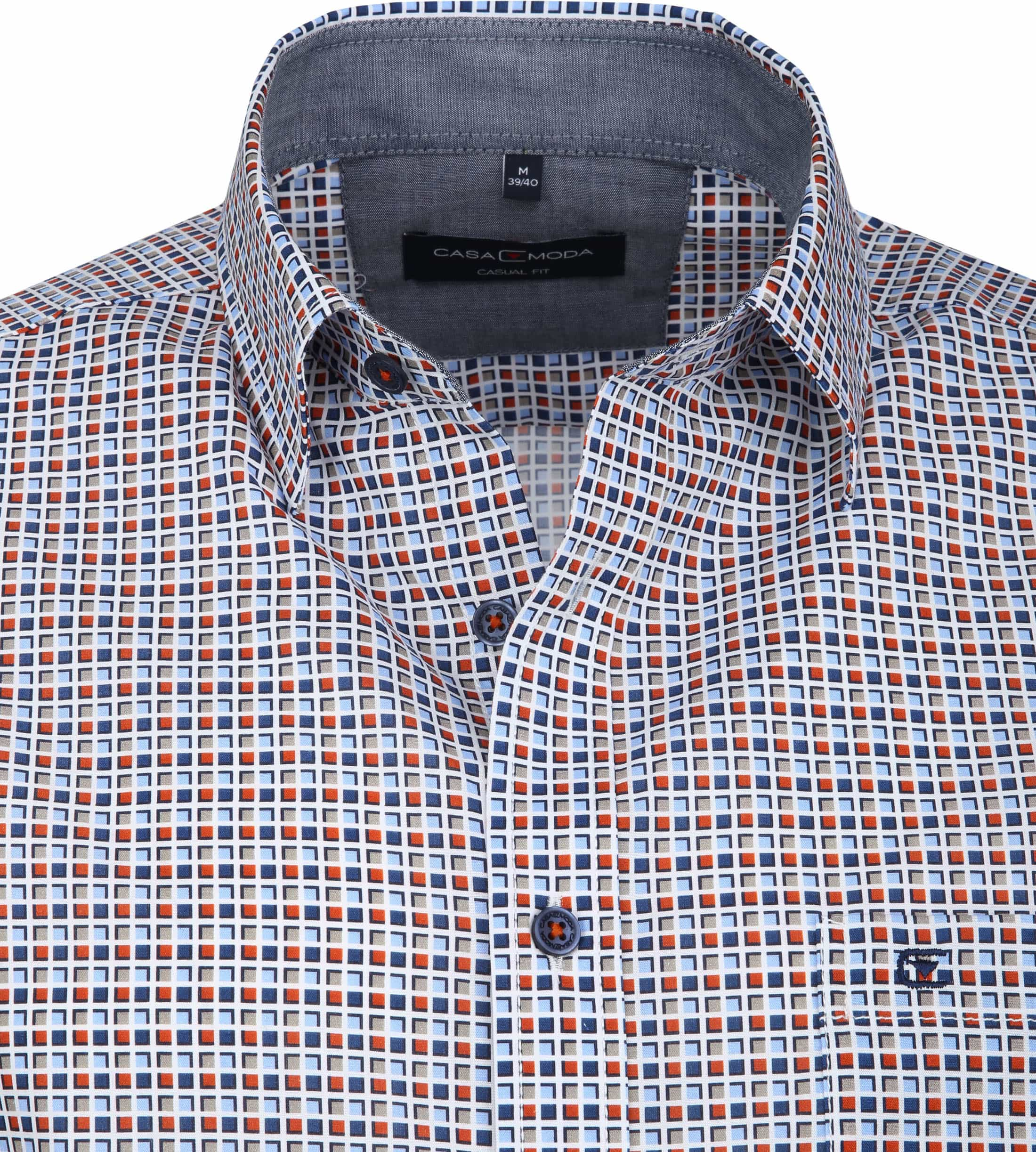 Casa Moda Casual Shirt Squares photo 1