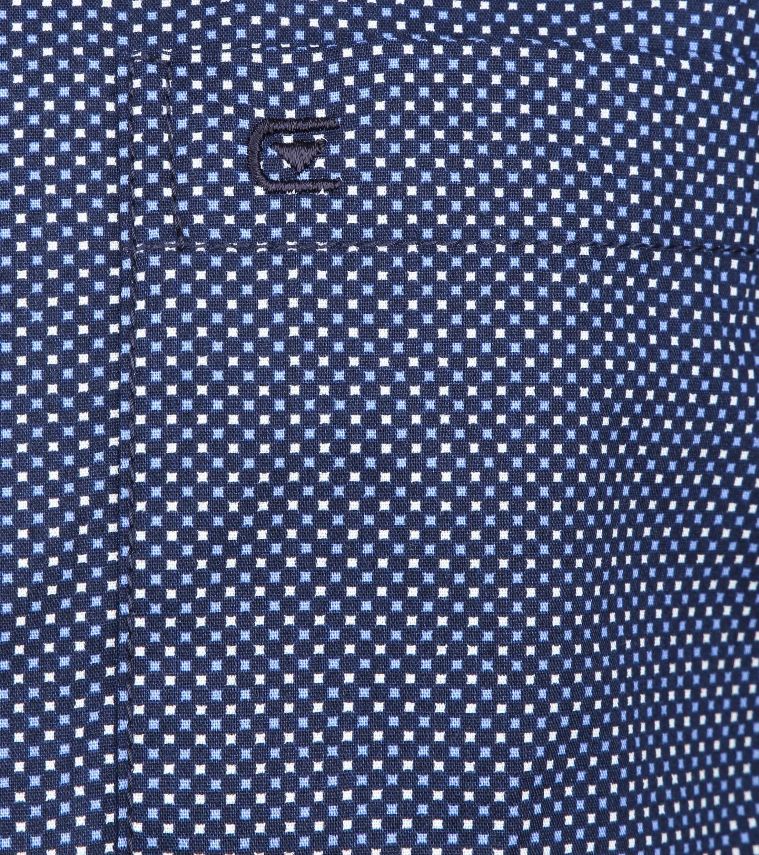 Casa Moda Overhemd Navy Vierkanten foto 2