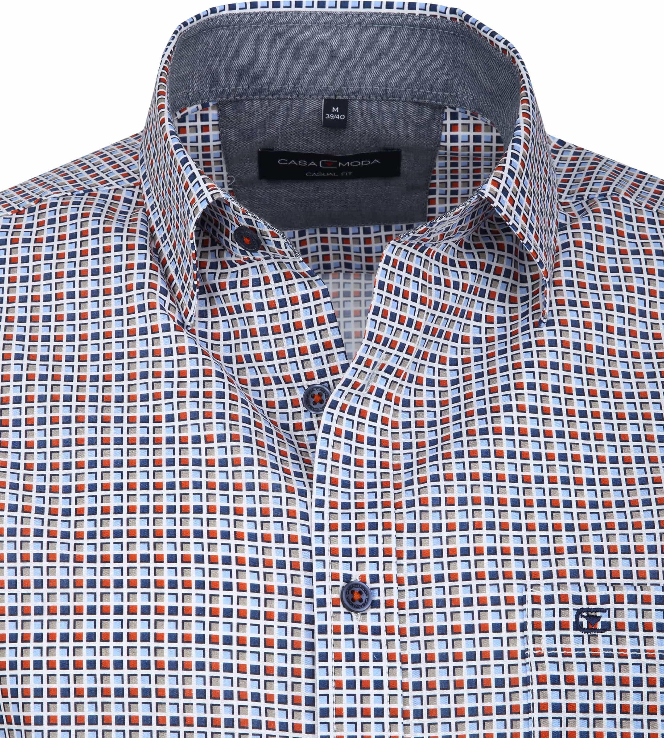Casa Moda Overhemd Vierkanten foto 1