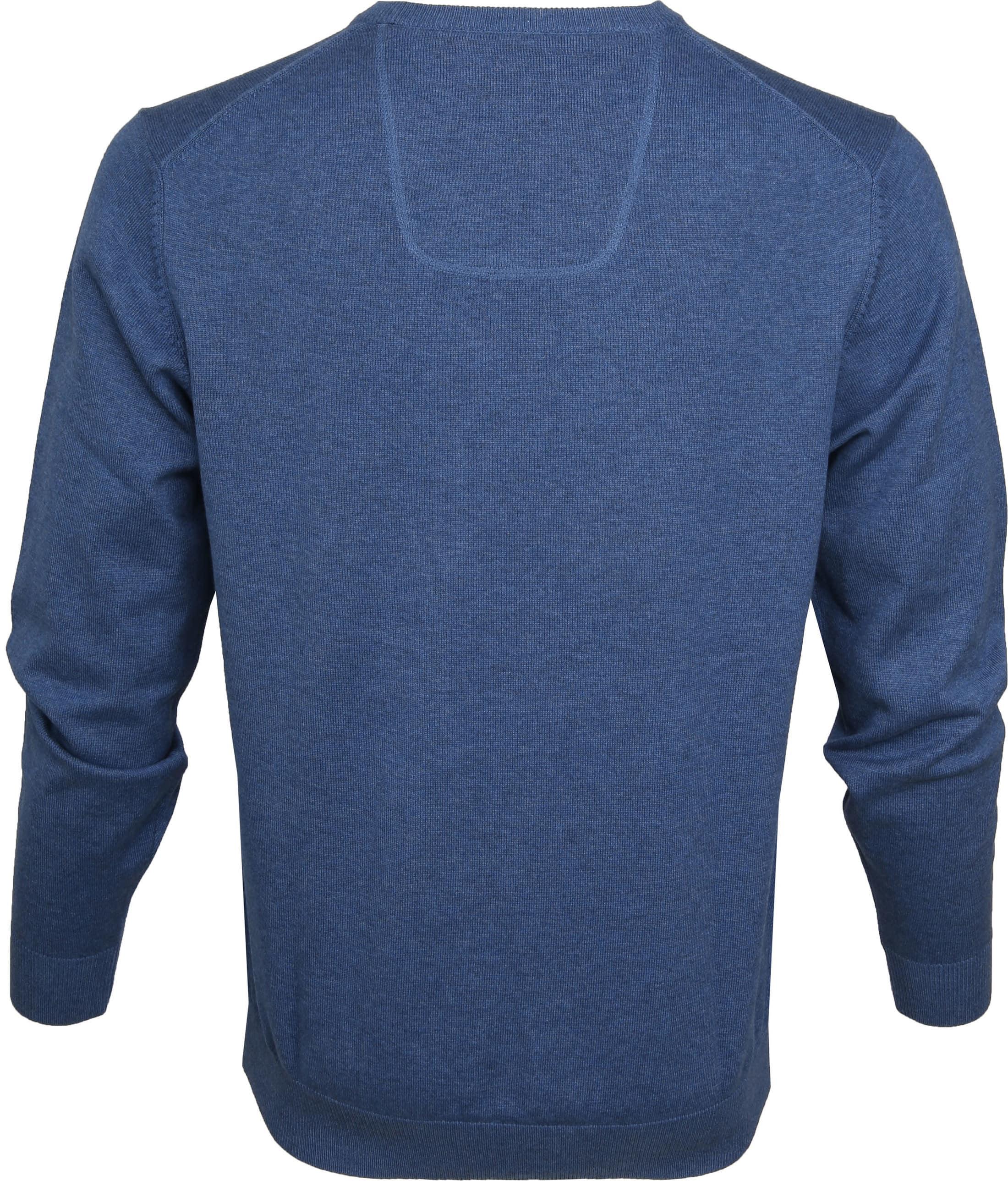 Casa Moda Pullover Blauw foto 3