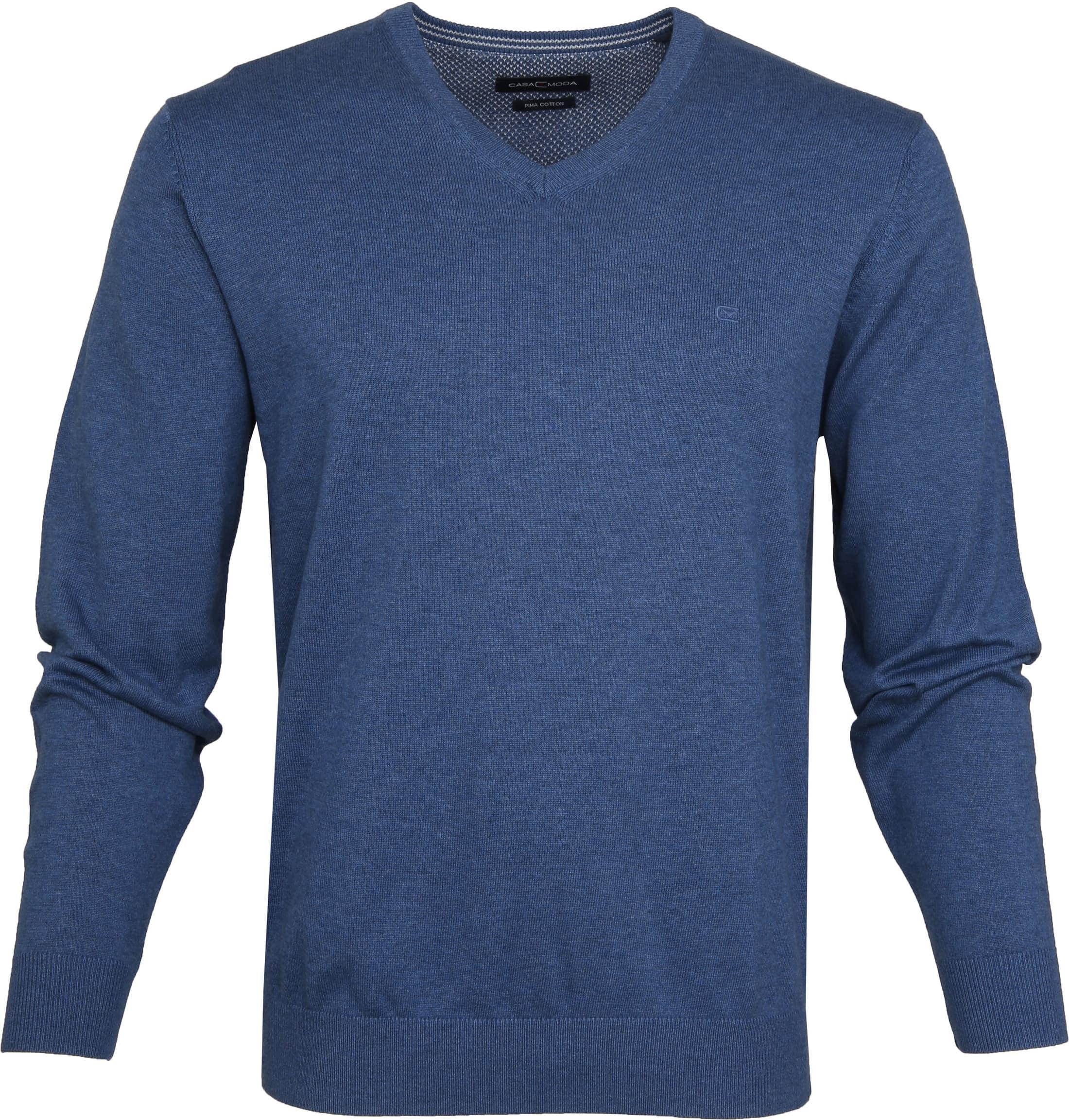 9995db5b080 Casa Moda Pullover Blue