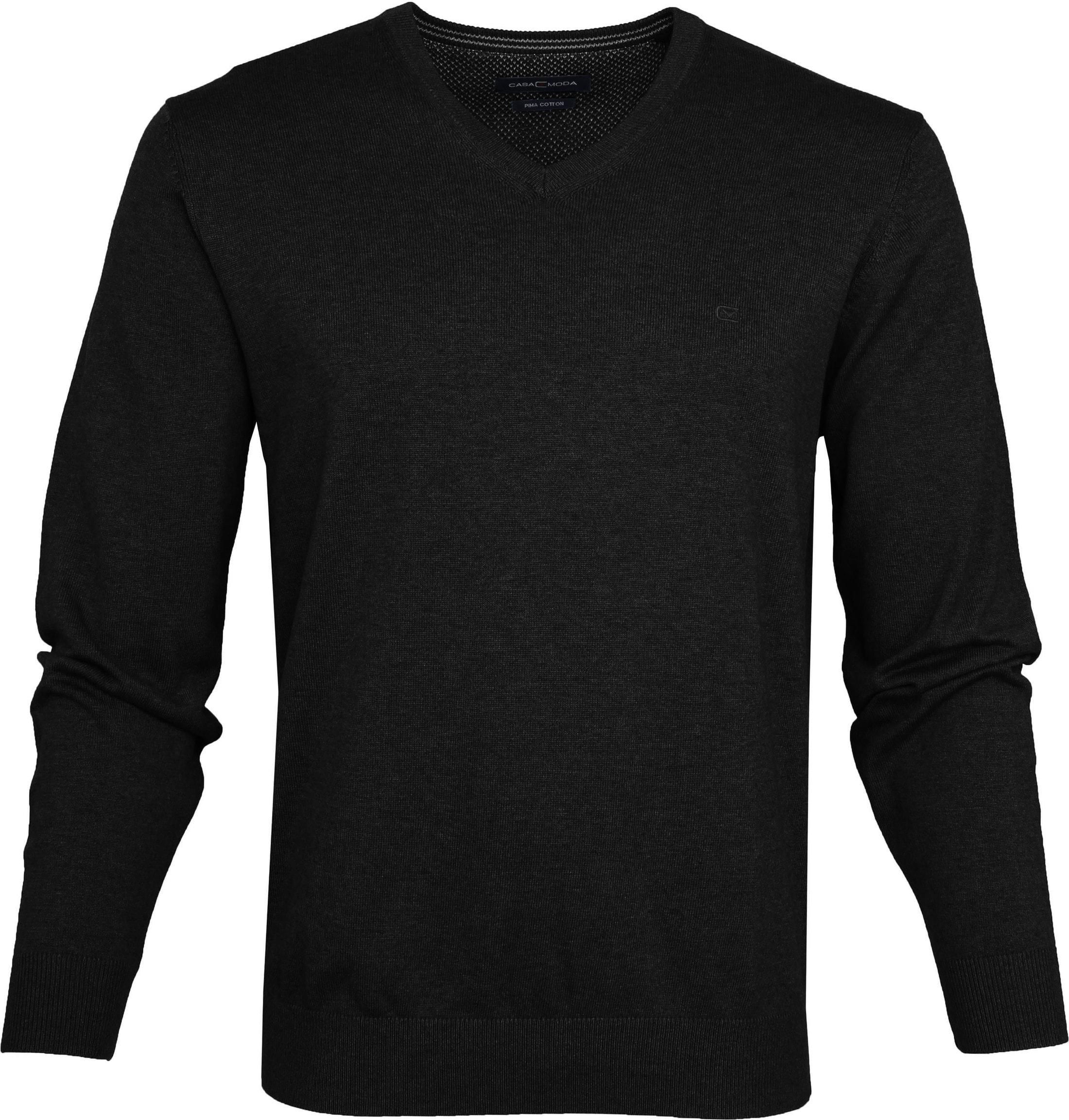 Casa Moda Pullover Zwart foto 0