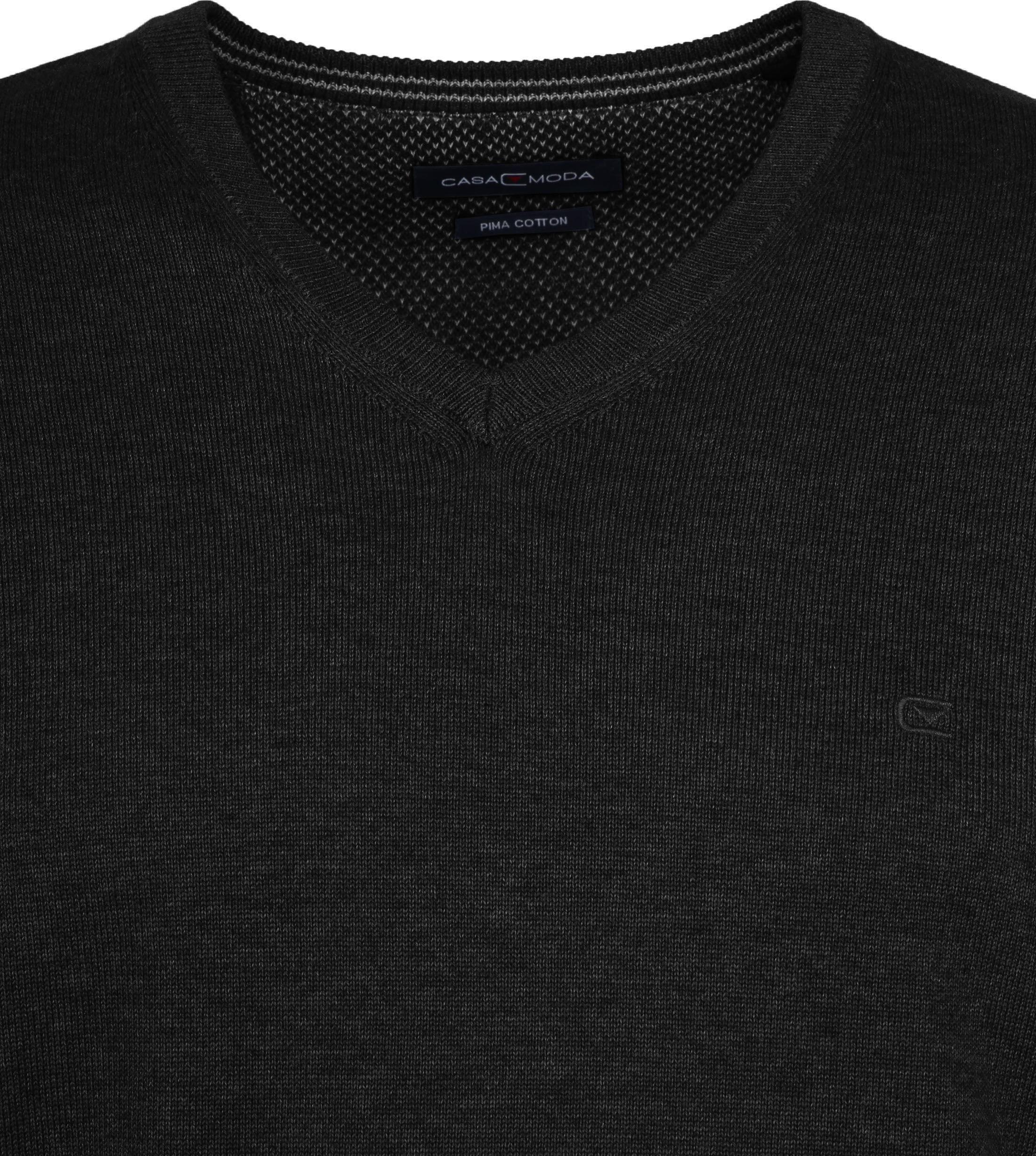 Casa Moda Pullover Zwart foto 1