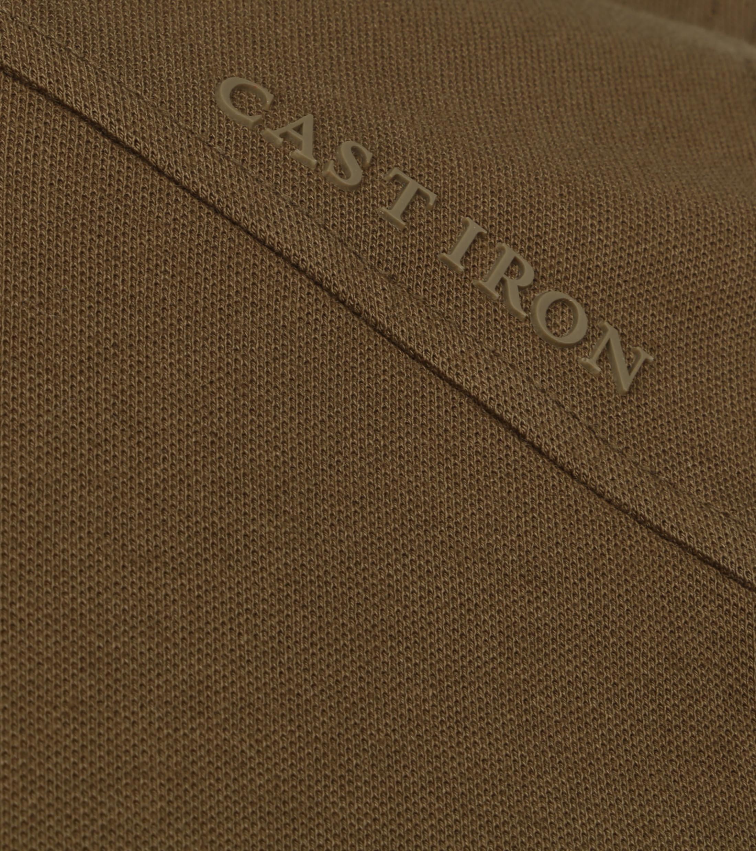 Cast Iron Polo Shirt Donkergroen