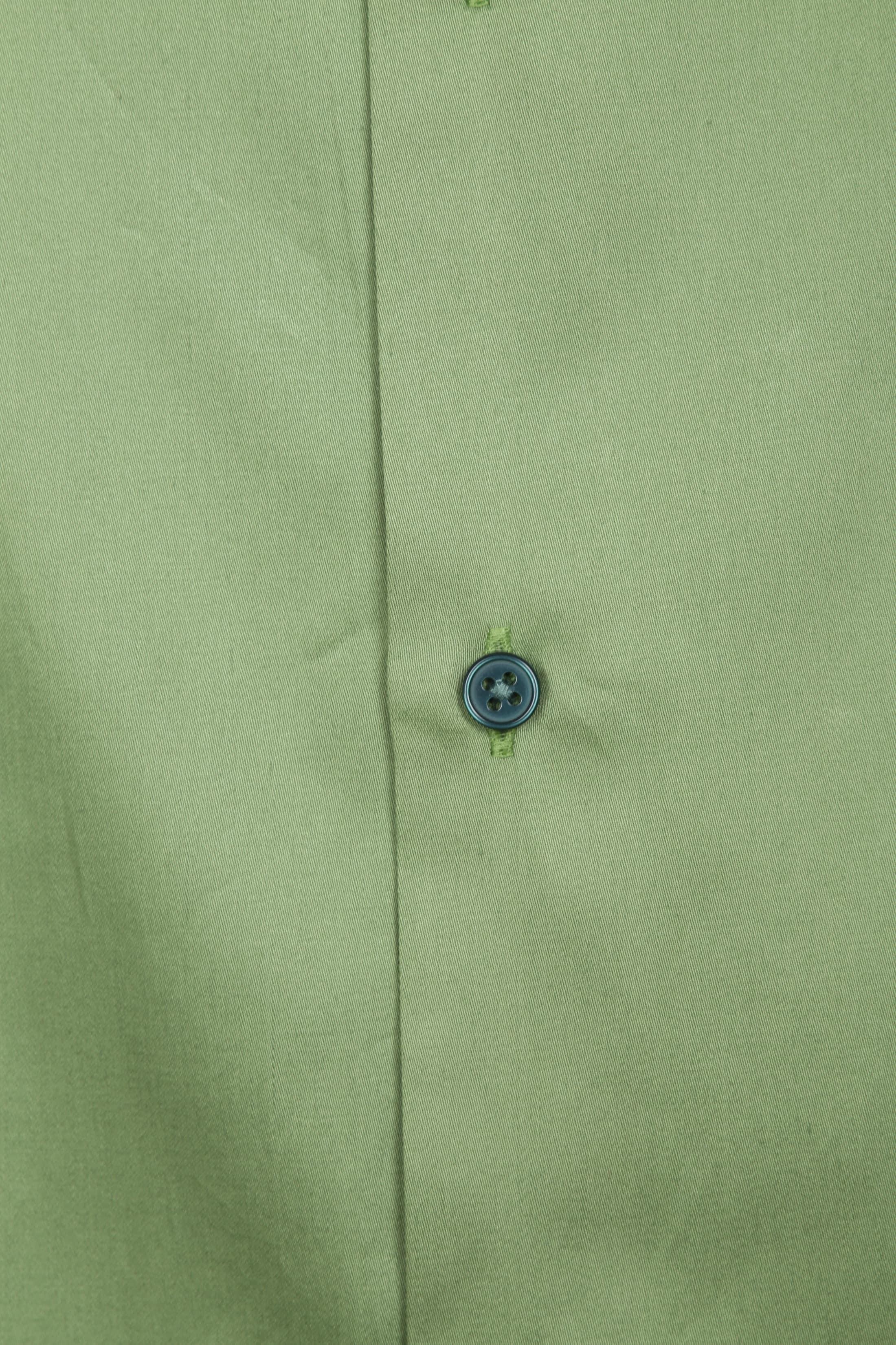 Casual Hemd Basic Grün foto 1