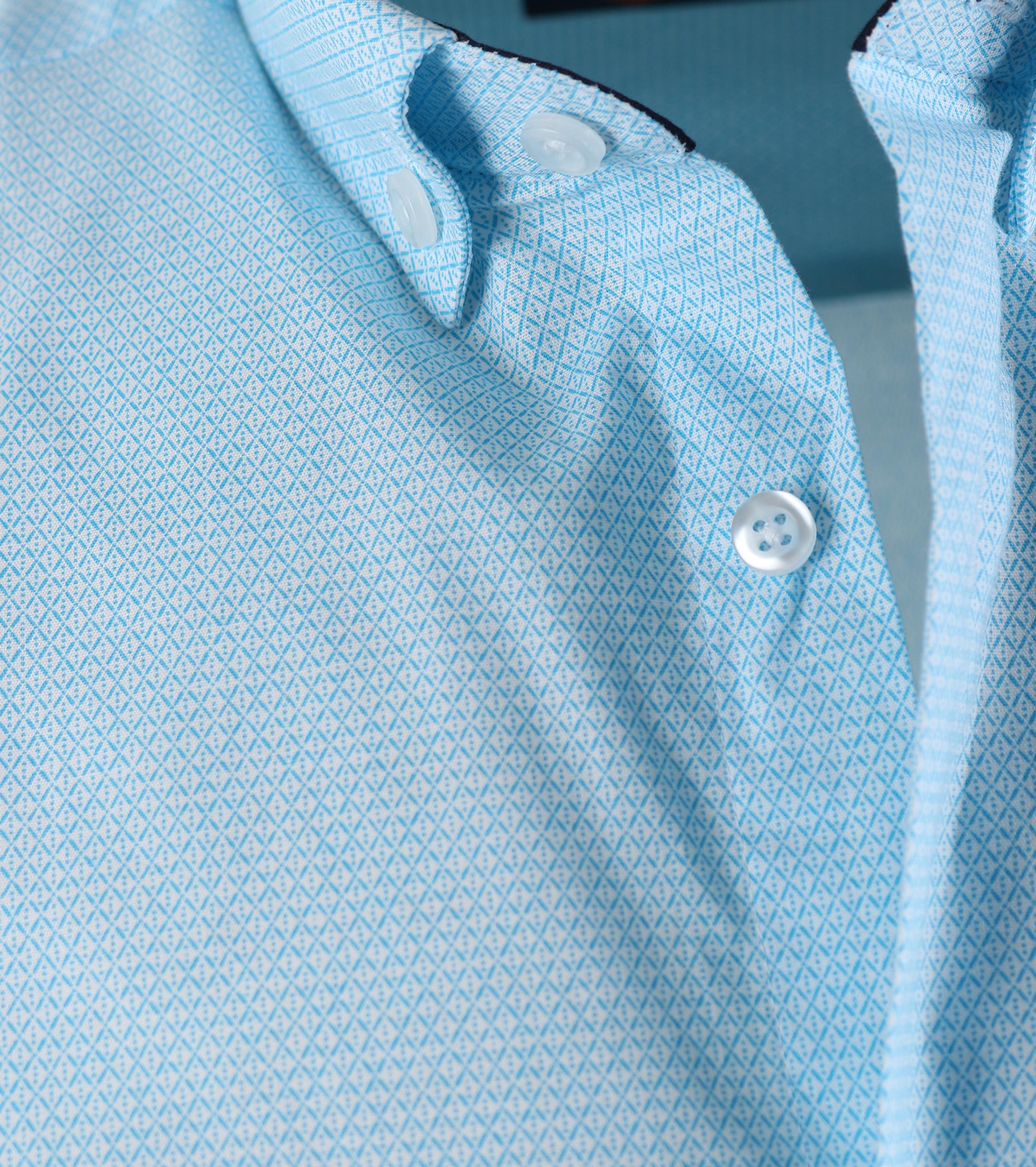 Casual Overhemd S2-3 Licht Blauw foto 1