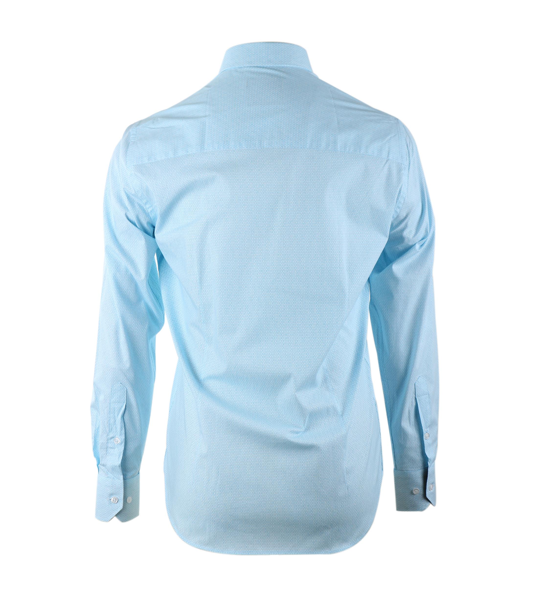 Casual Overhemd S2-3 Licht Blauw foto 3
