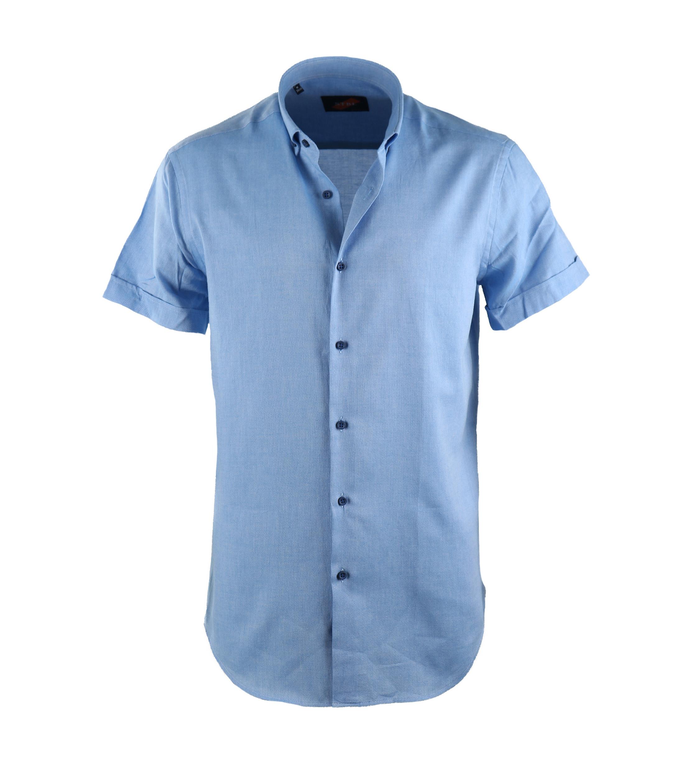 Casual Overhemd S3-2 Blauw foto 0