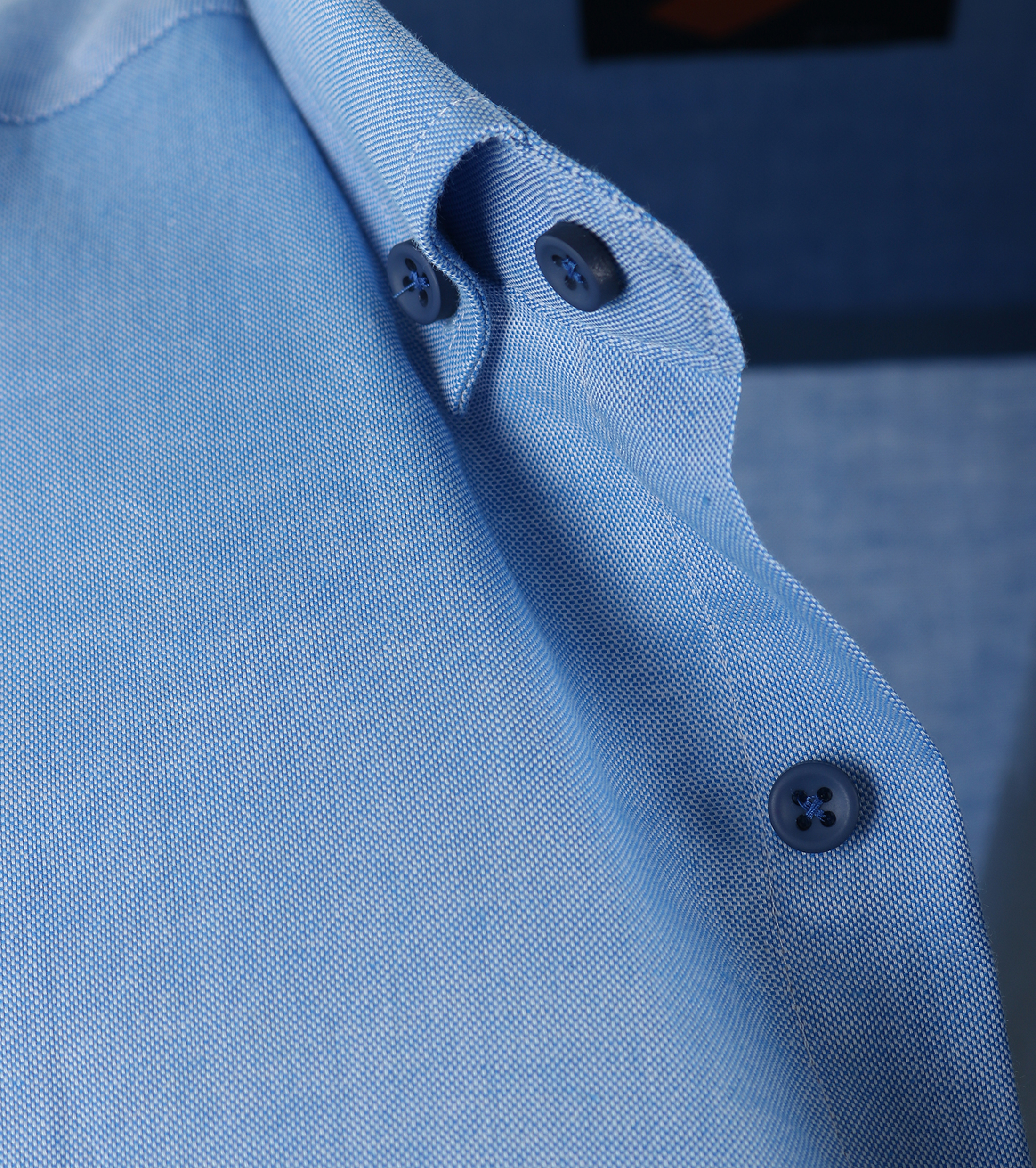 Casual Overhemd S3-2 Blauw foto 1