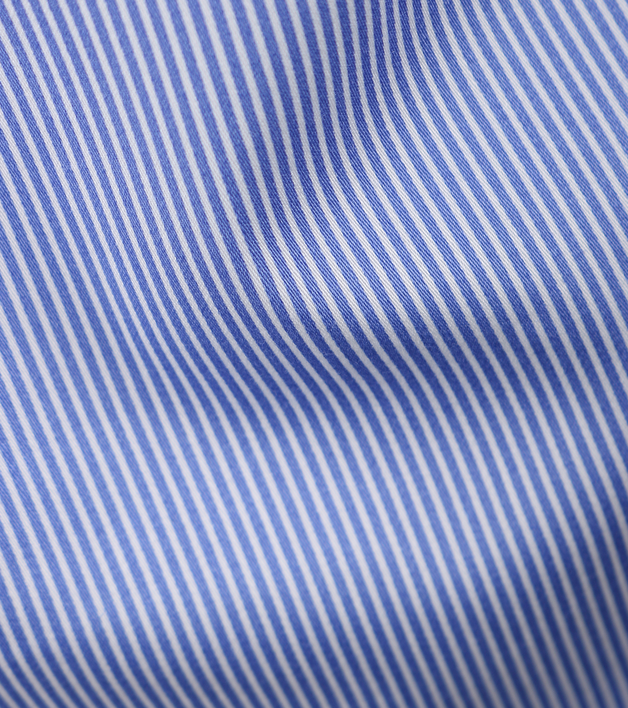 Casual Overhemd S3-6 Blauw Wit foto 2