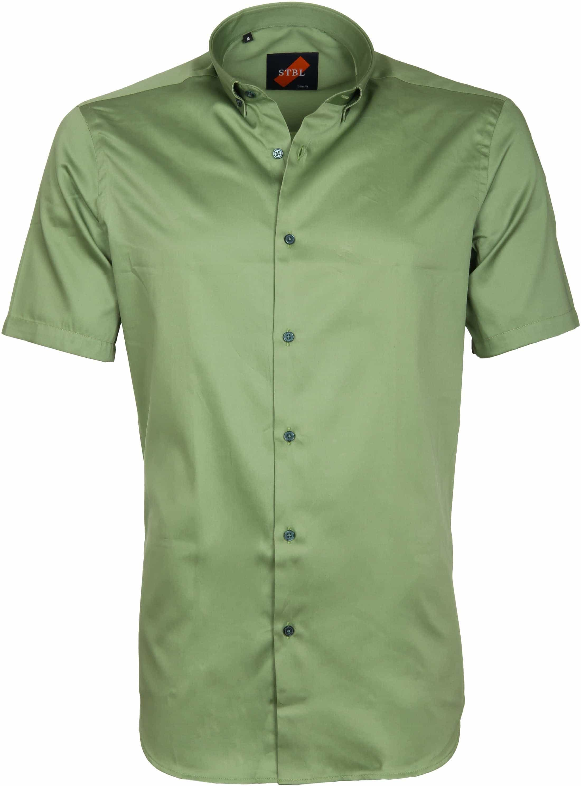 Casual Shirt Basic Green foto 0