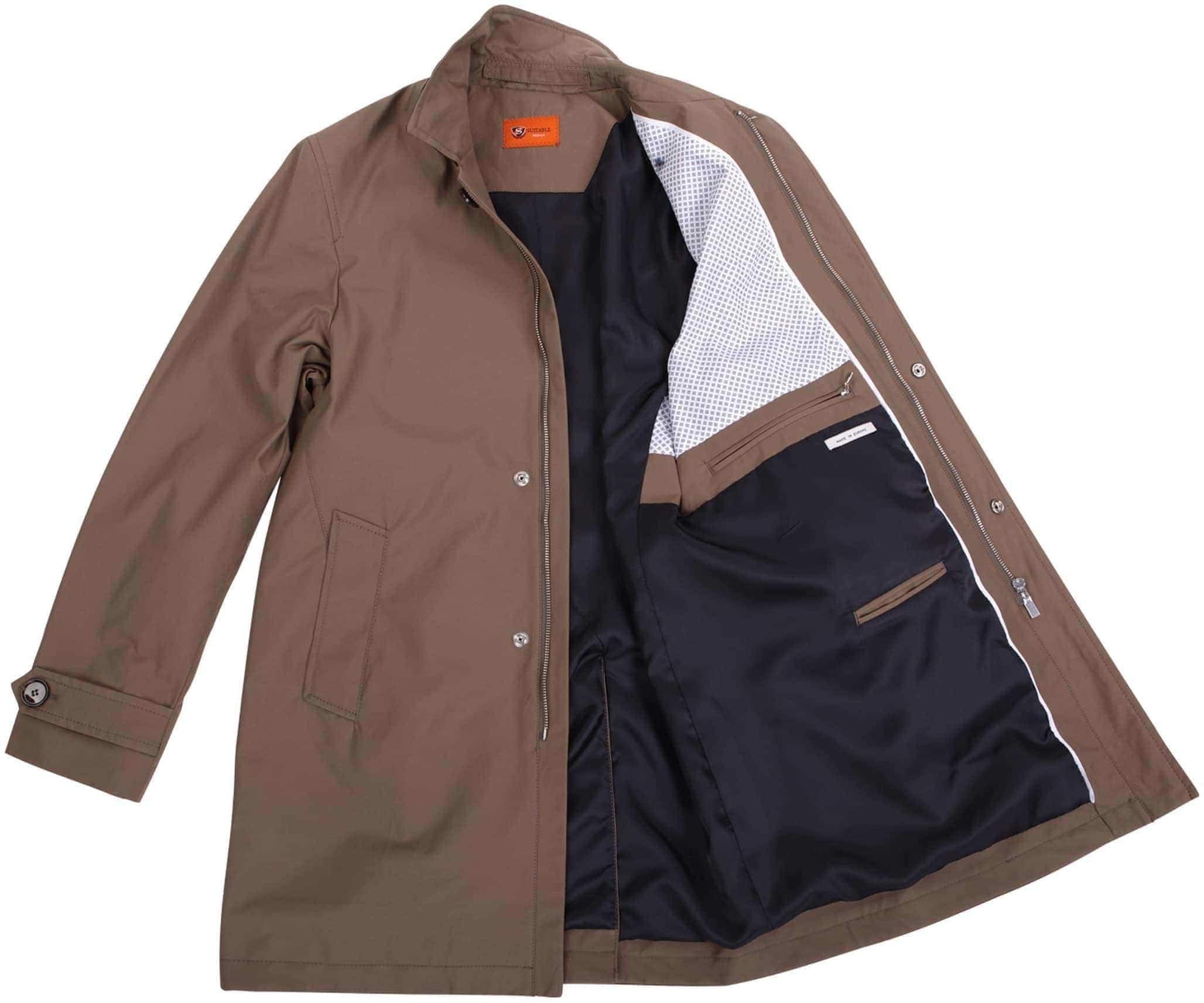 Coat Alassio Taupe