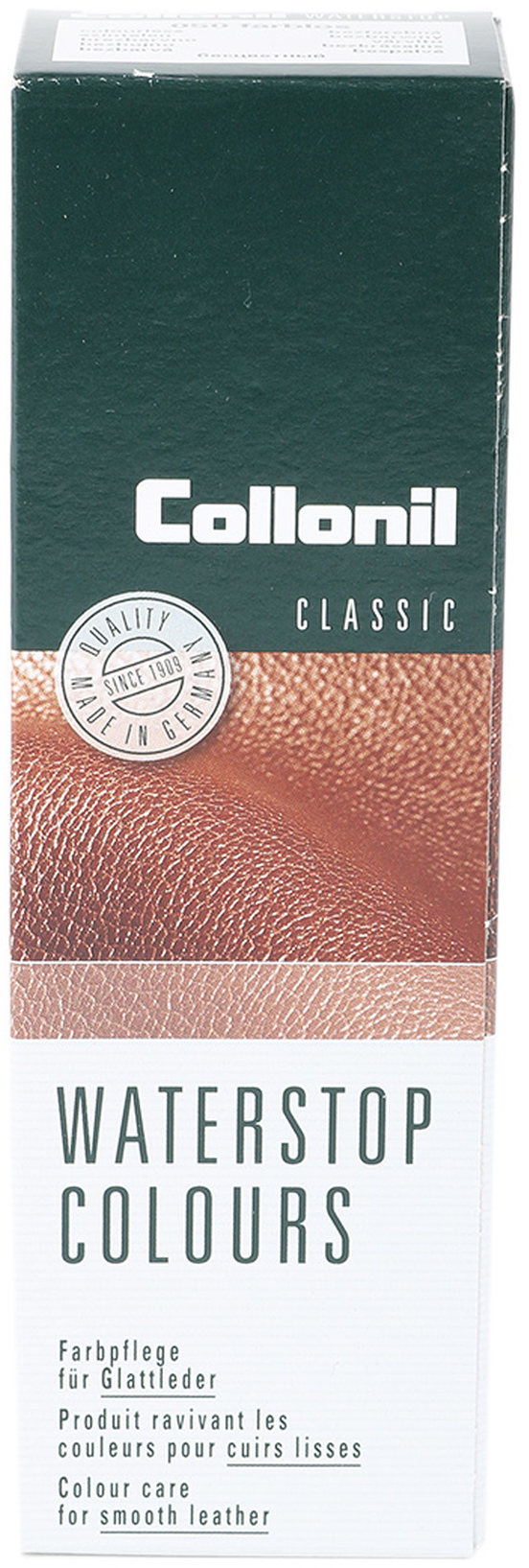 Collonil Waterstop Leather Cream Chestnut foto 0