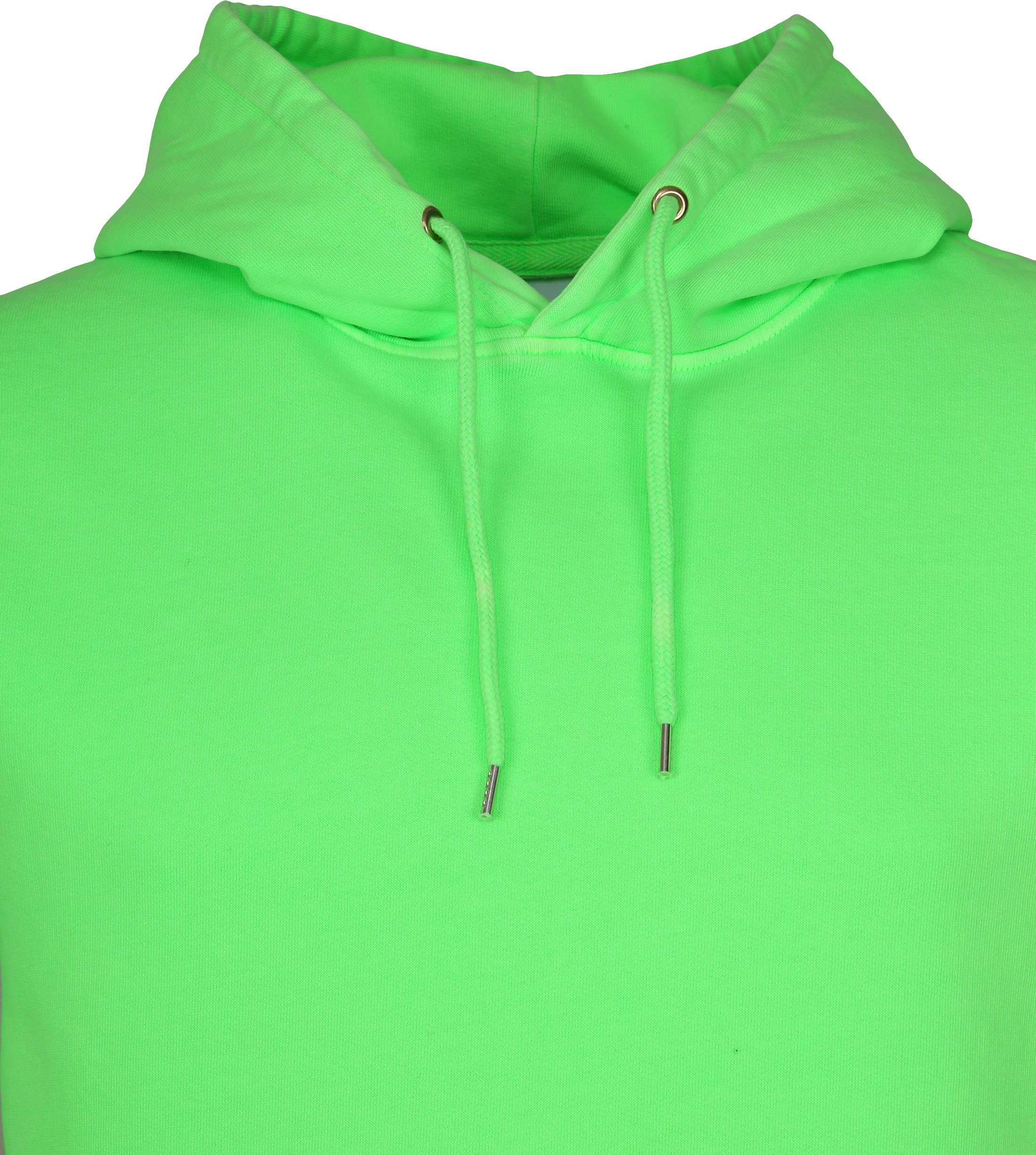 Colorful Standard Hoodie Neon Groen foto 1