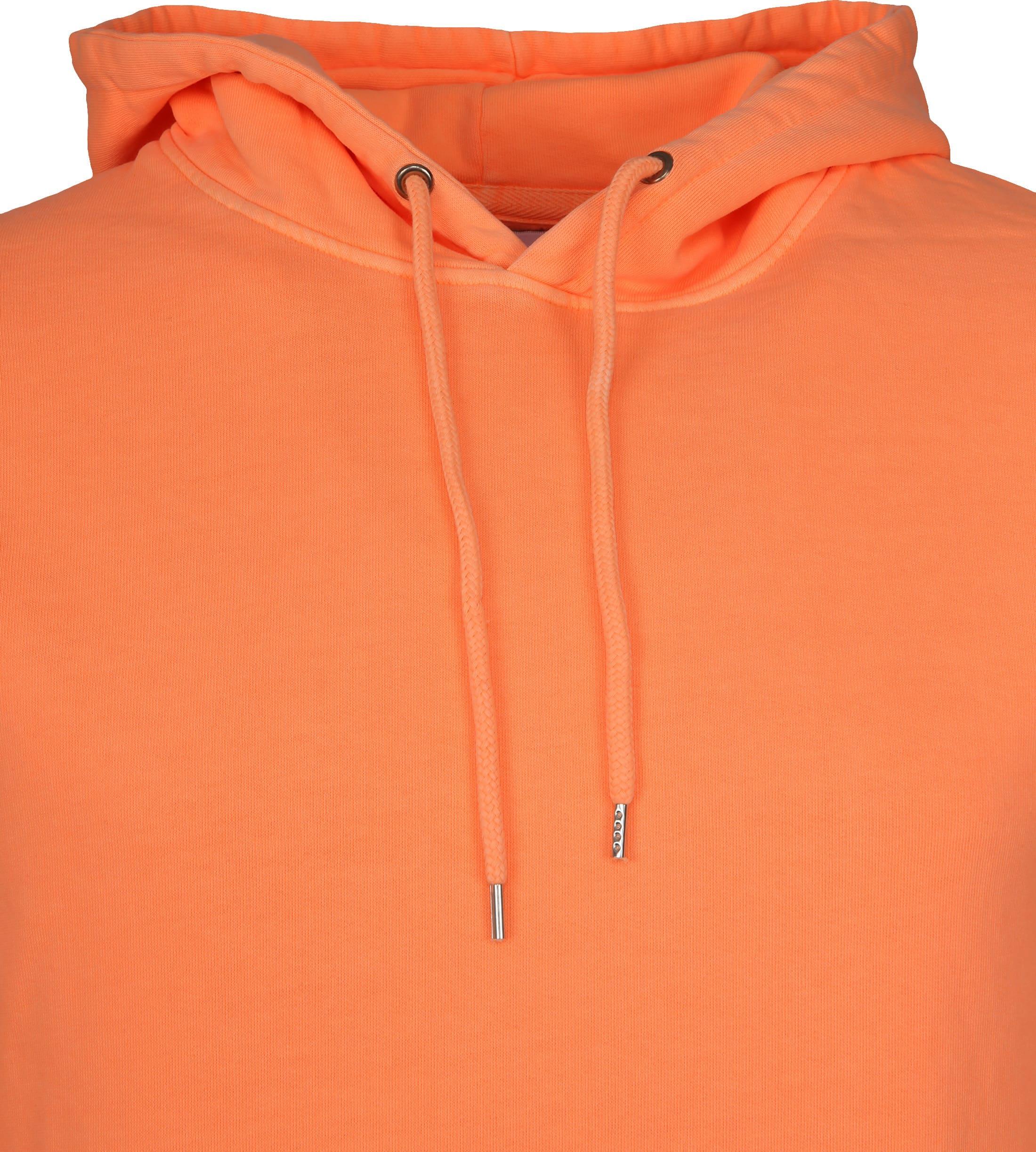 Colorful Standard Hoodie Neon Oranje foto 1