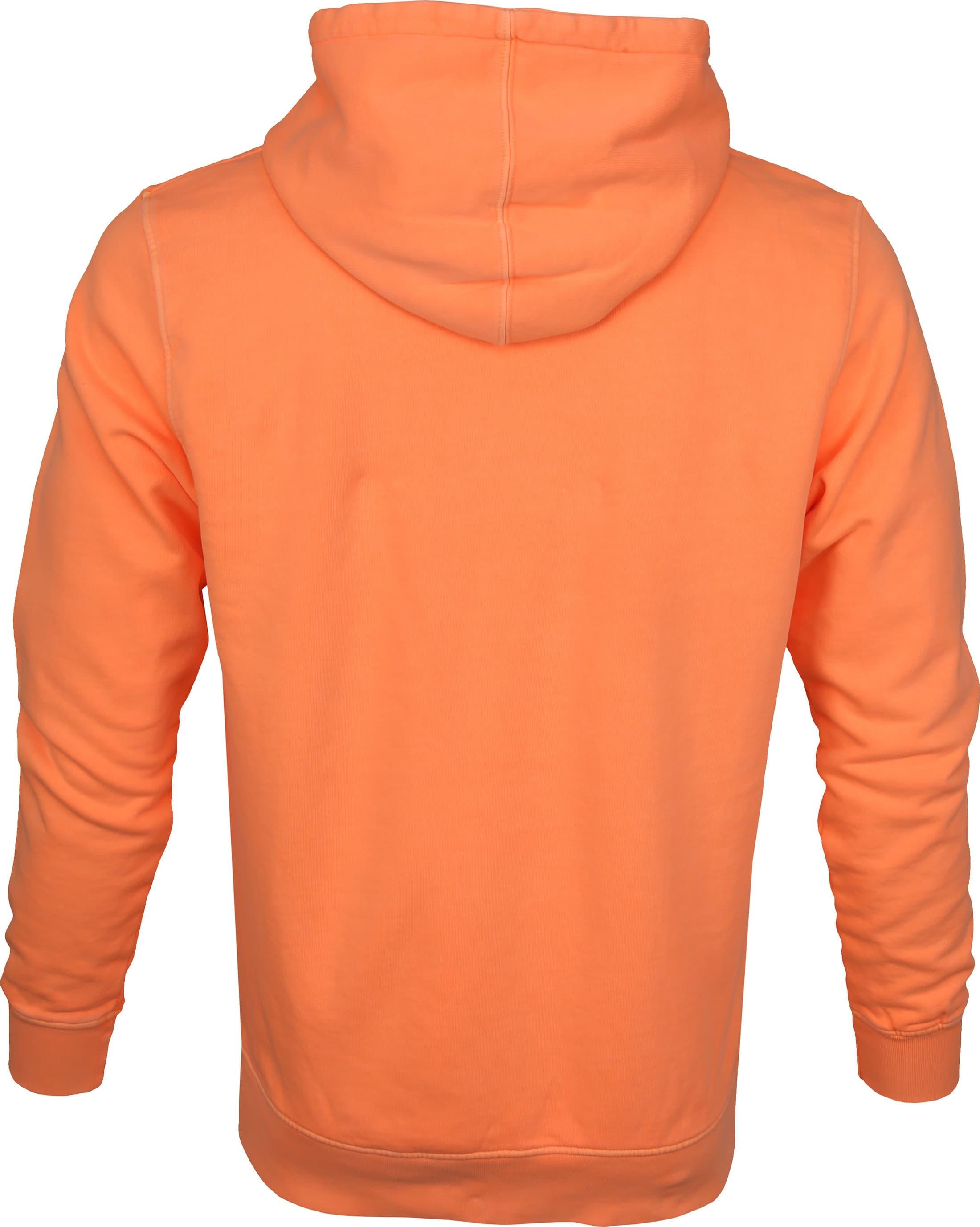 Colorful Standard Hoodie Neon Oranje foto 3