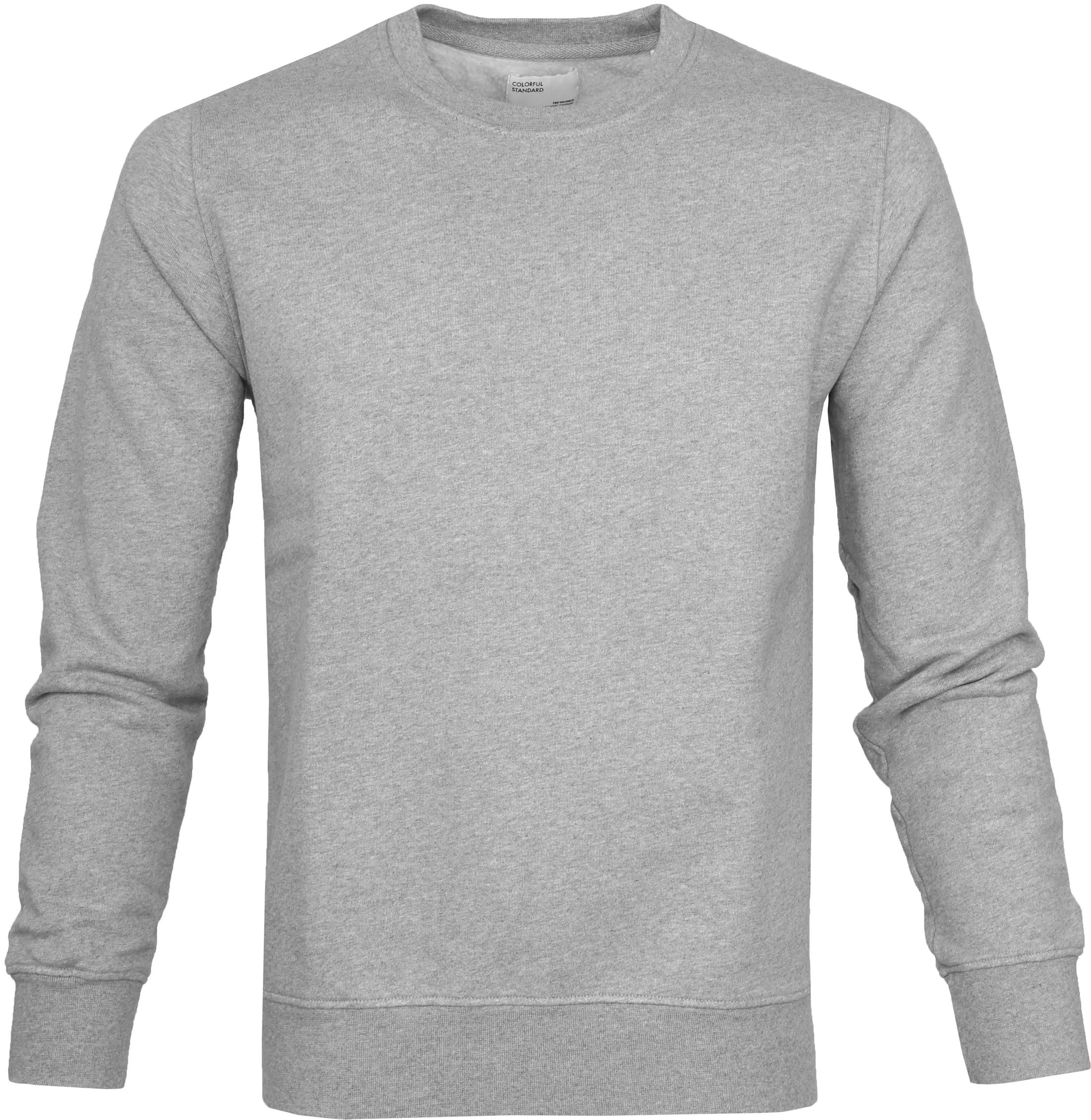 Colorful Standard Sweater Heather Grey foto 0