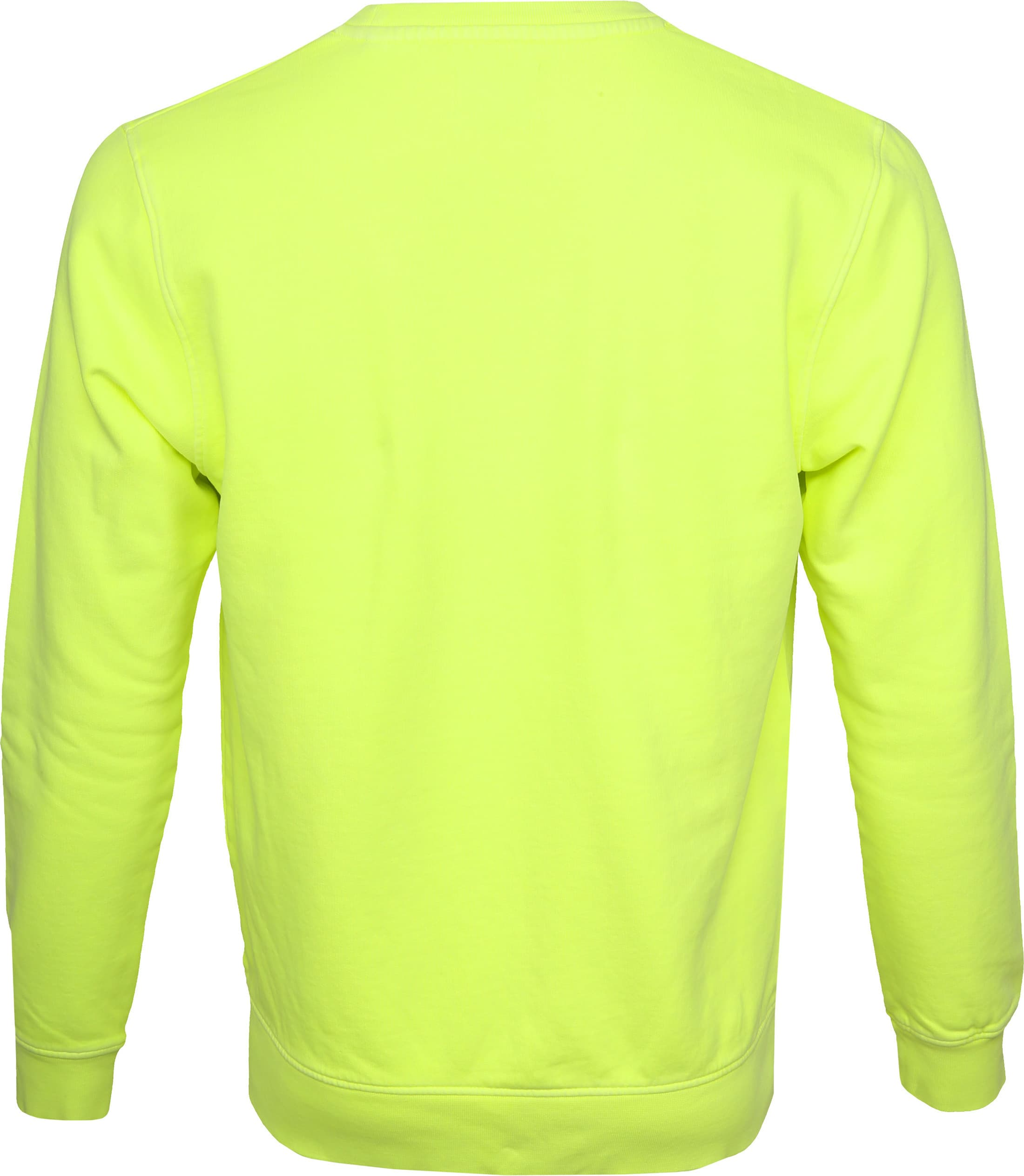 Colorful Standard Sweater Neon Geel foto 3