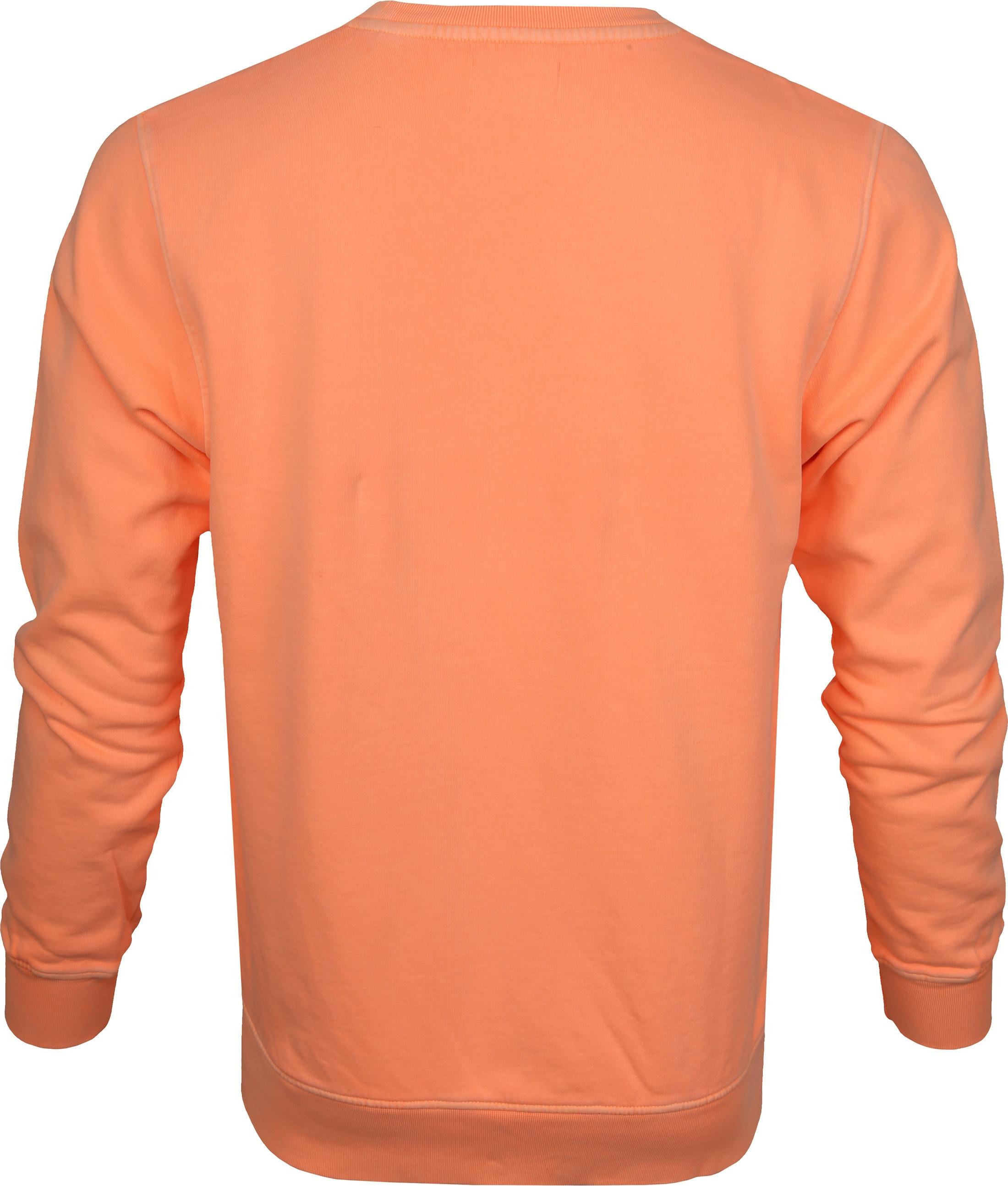 Colorful Standard Sweater Neon Oranje foto 3