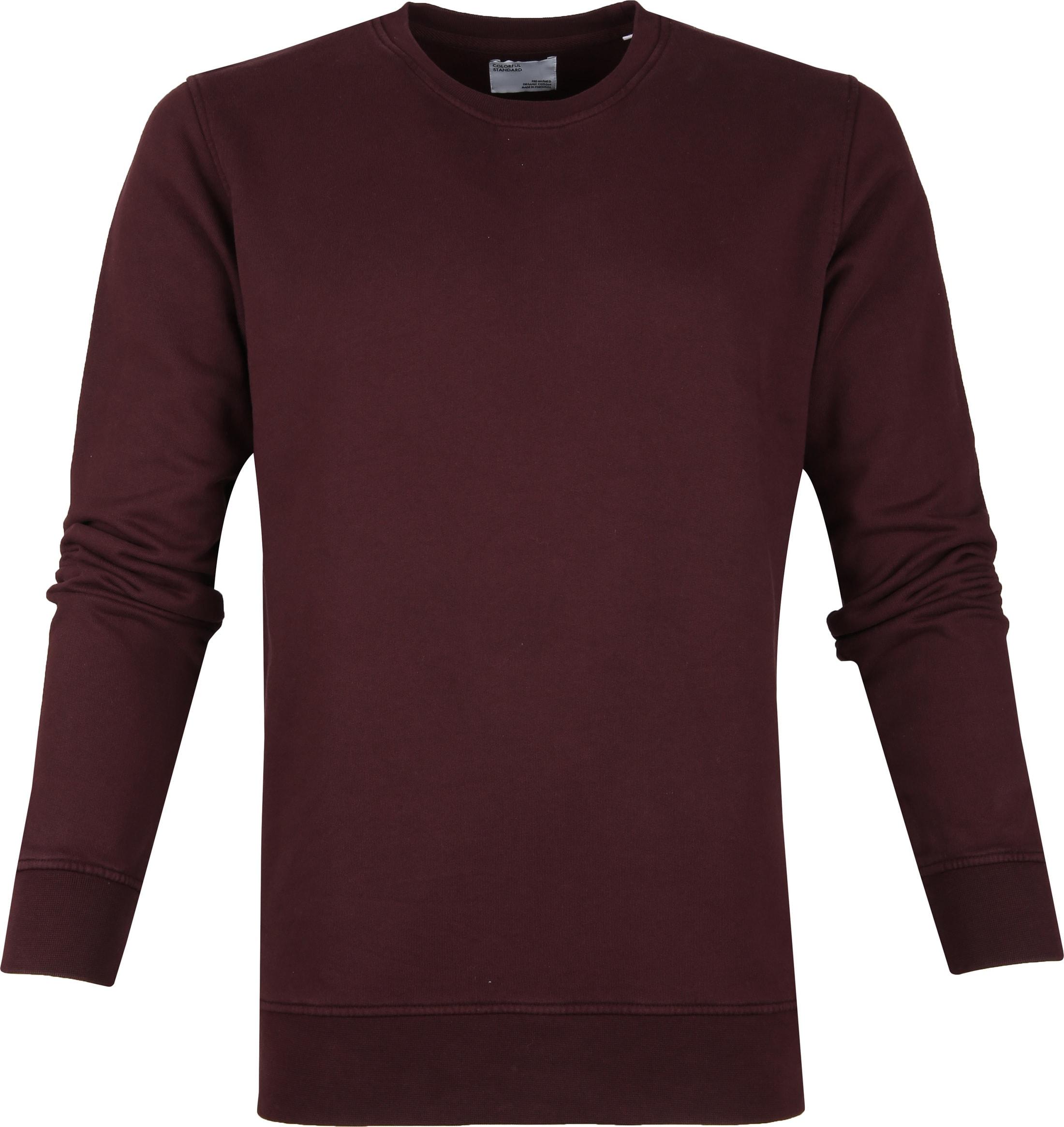 Colorful Standard Sweater Organic Bordeaux foto 0