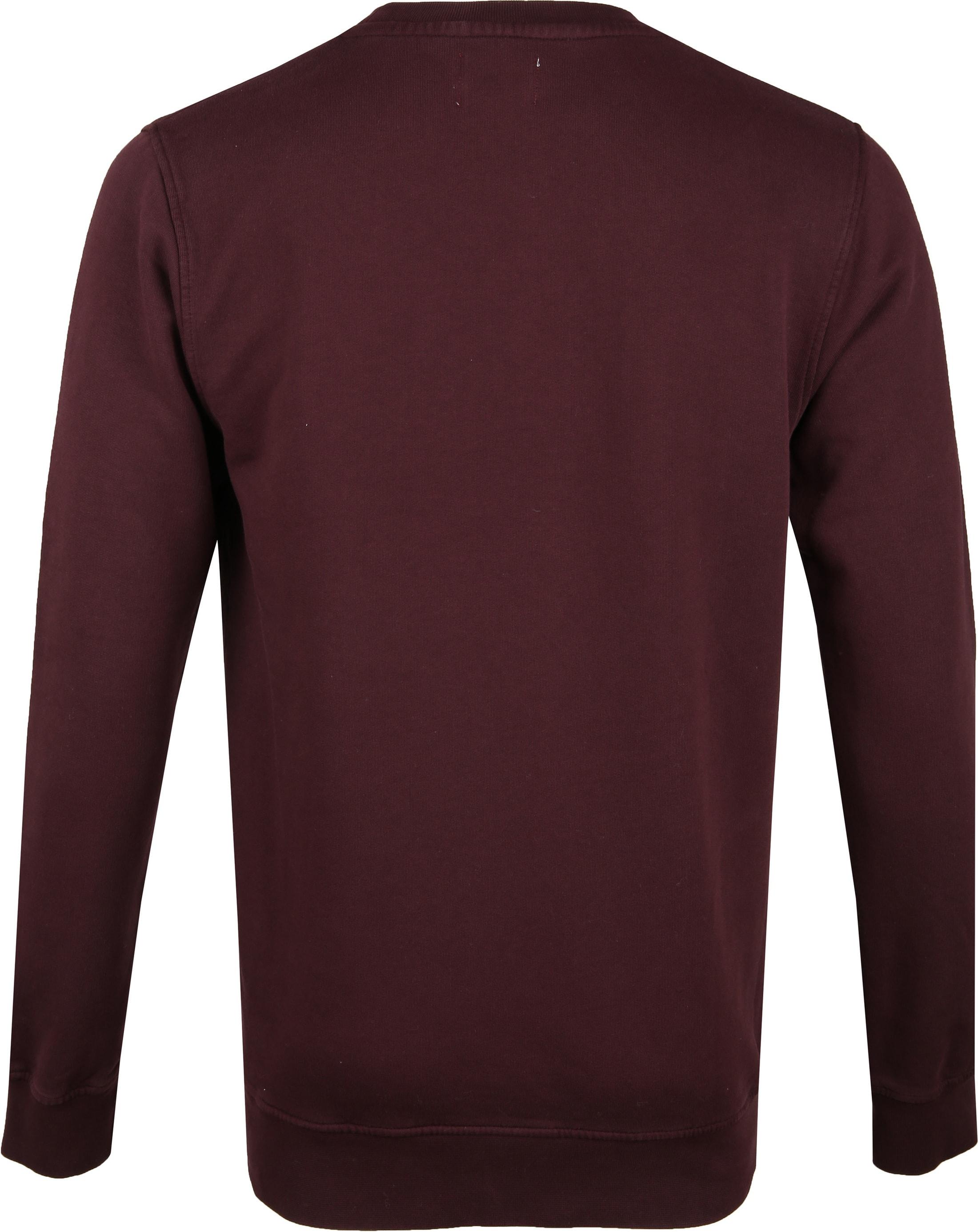 Colorful Standard Sweater Organic Bordeaux foto 3