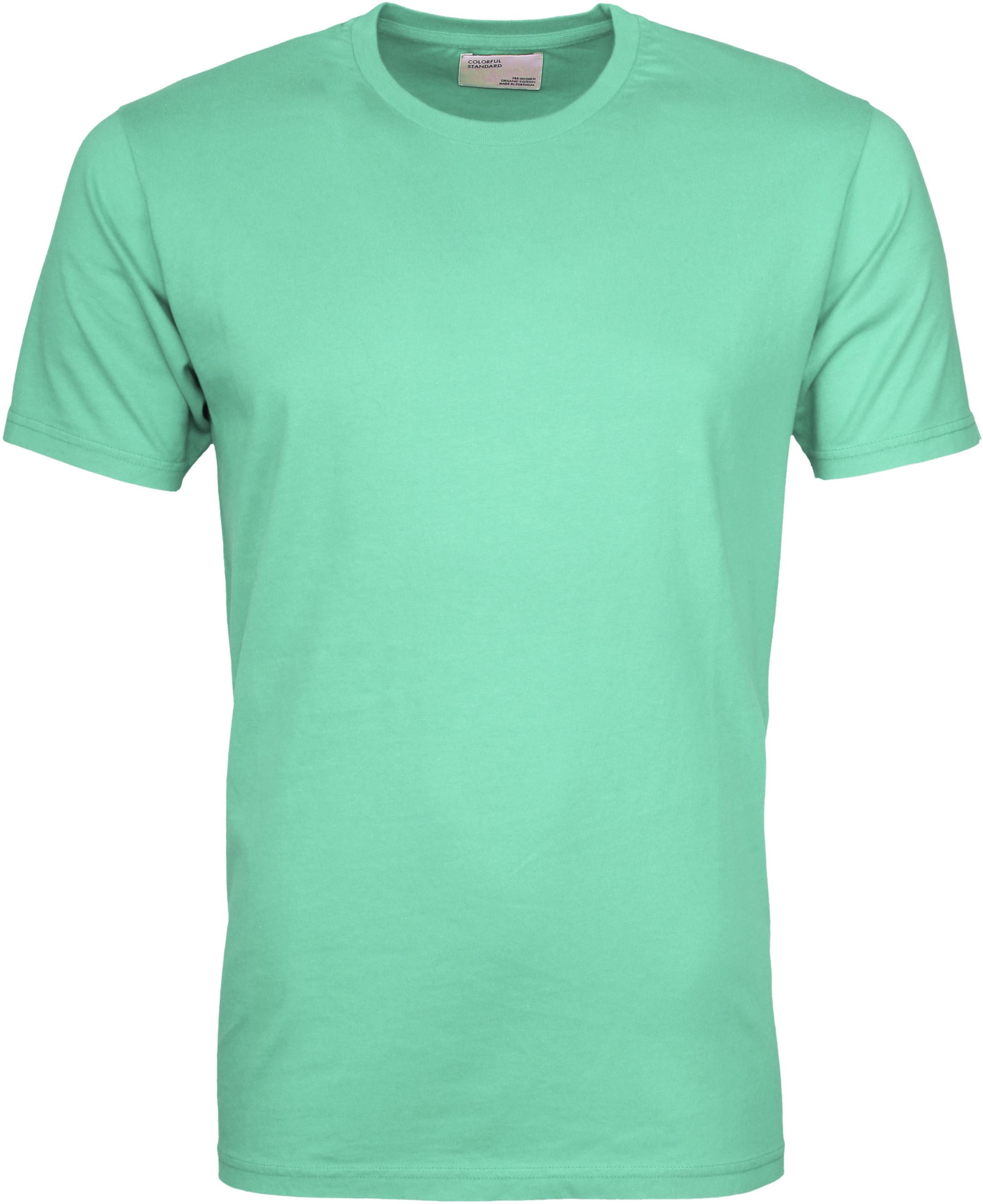 Colorful Standard T-shirt Faded Mint foto 0
